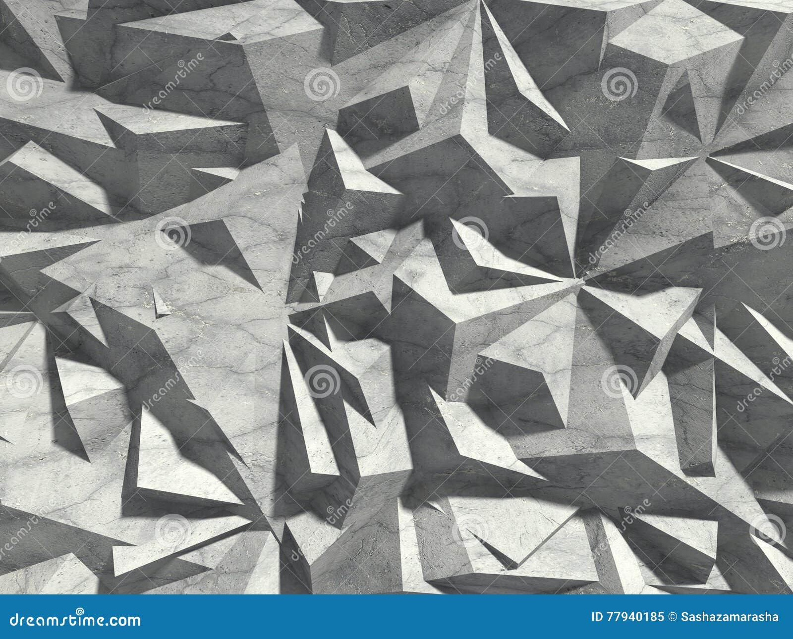 抽象建筑学具体混乱样式墙壁背景