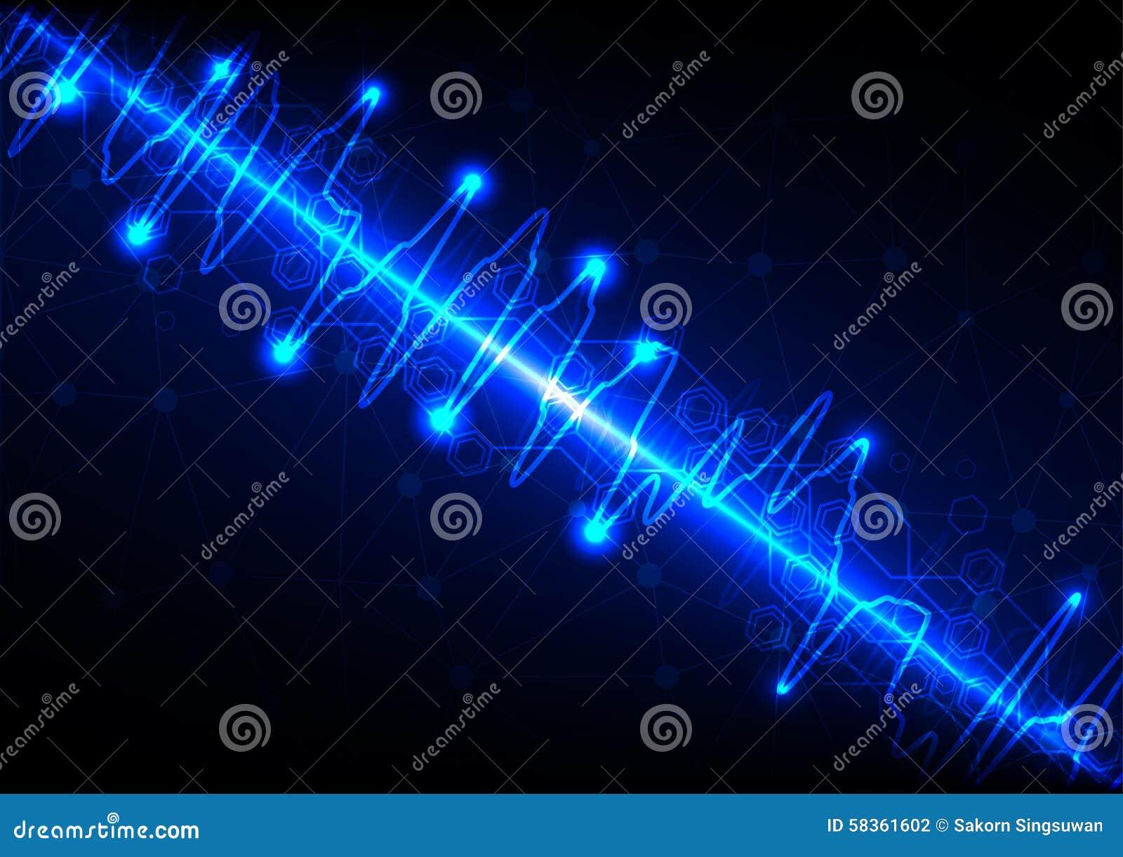 传染媒介滤网有光波蓝色背景 也corel凹道例证向量.