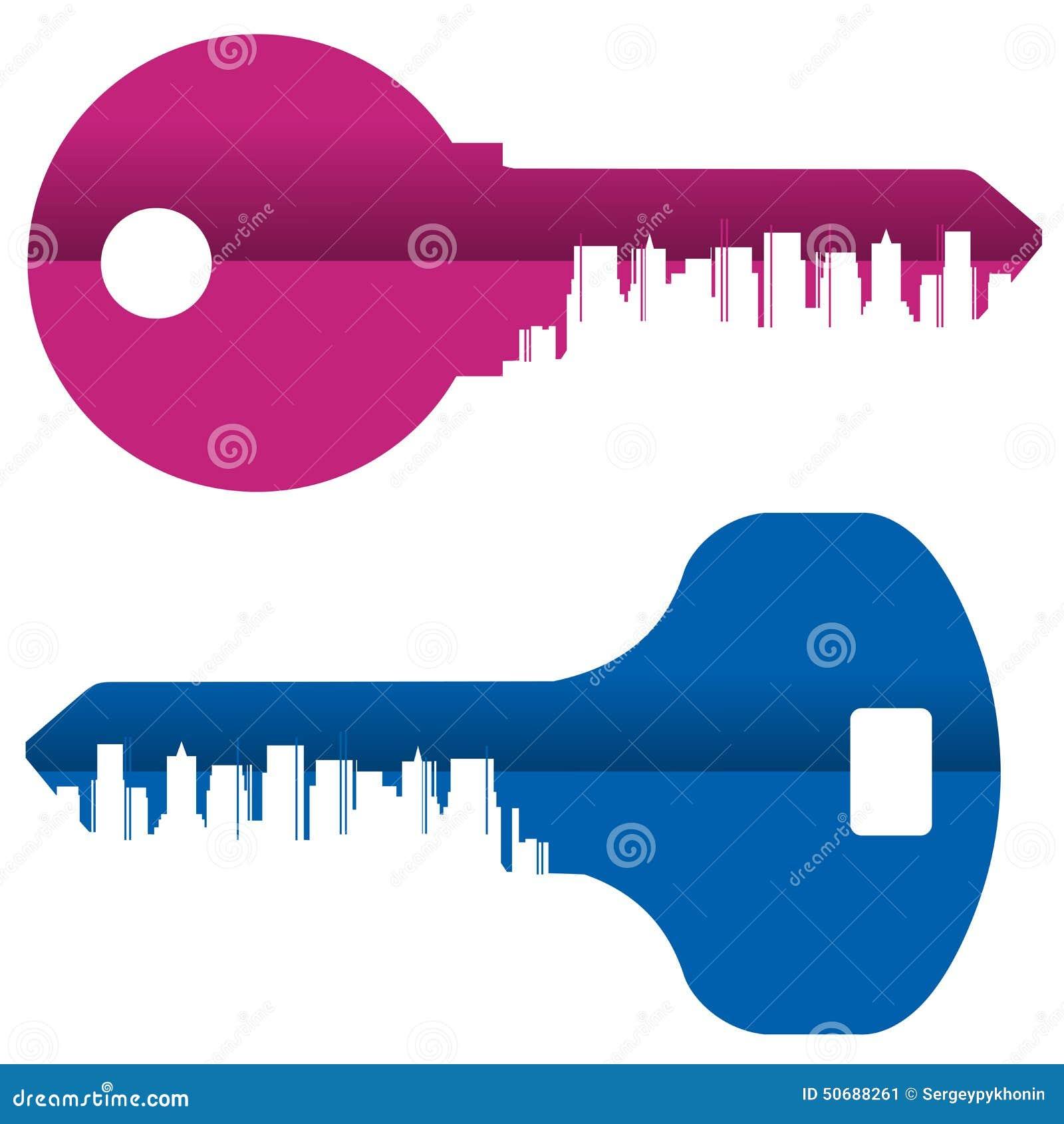 Download 抽象 色的钥匙和城市白色的 库存例证. 插画 包括有 庄园, 总部, 对象, 房子, 公寓房, 大都会, 积累 - 50688261