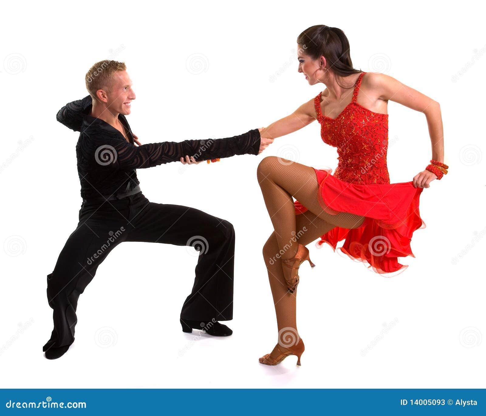拉丁语10个舞厅的舞蹈演员