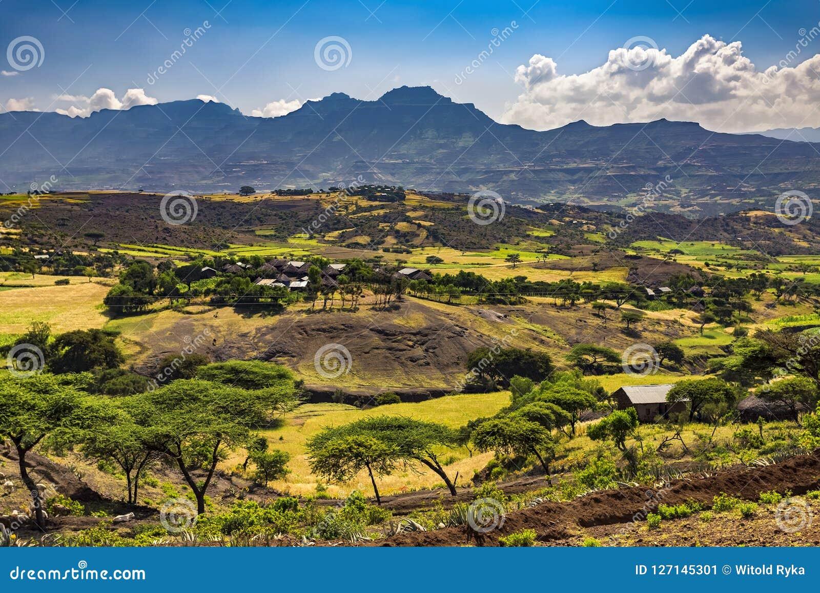 拉利贝拉乡下,埃塞俄比亚