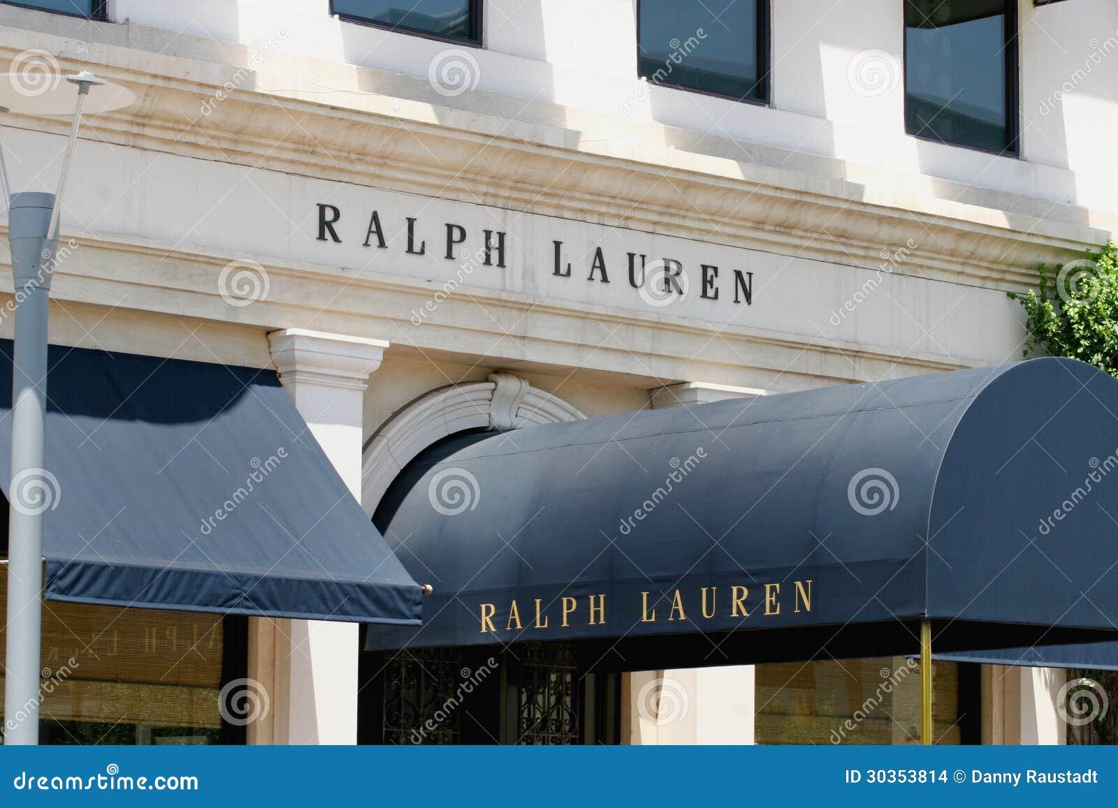 拉尔夫劳伦零售服装店