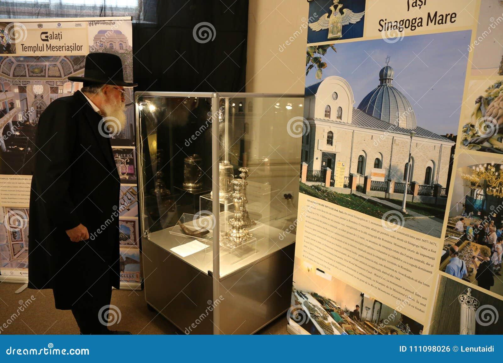 拉斐尔Shaffer -犹太人的首要犹太教教士在罗马尼亚