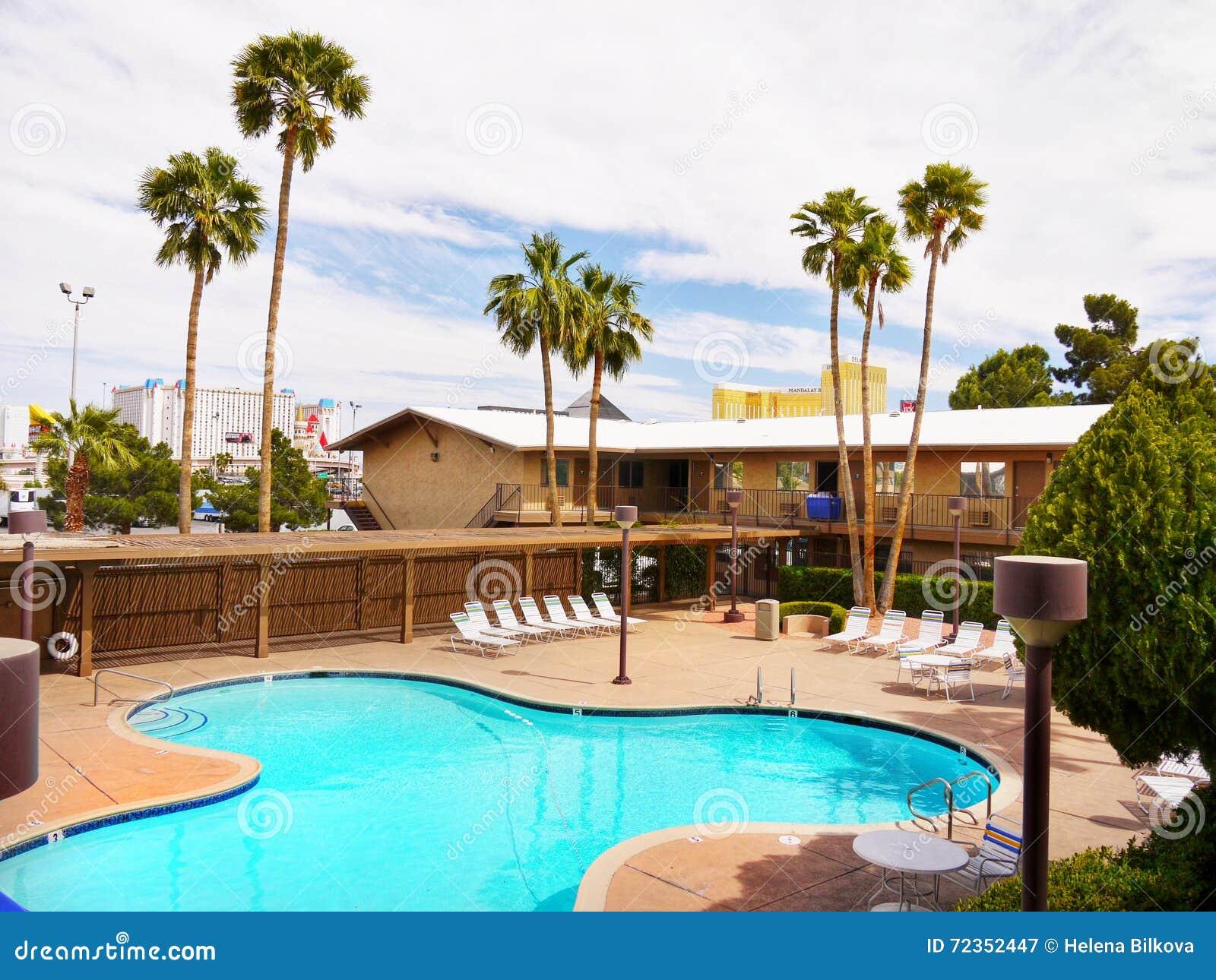 拉斯维加斯,内华达-狂放的西部旅馆和赌博娱乐场