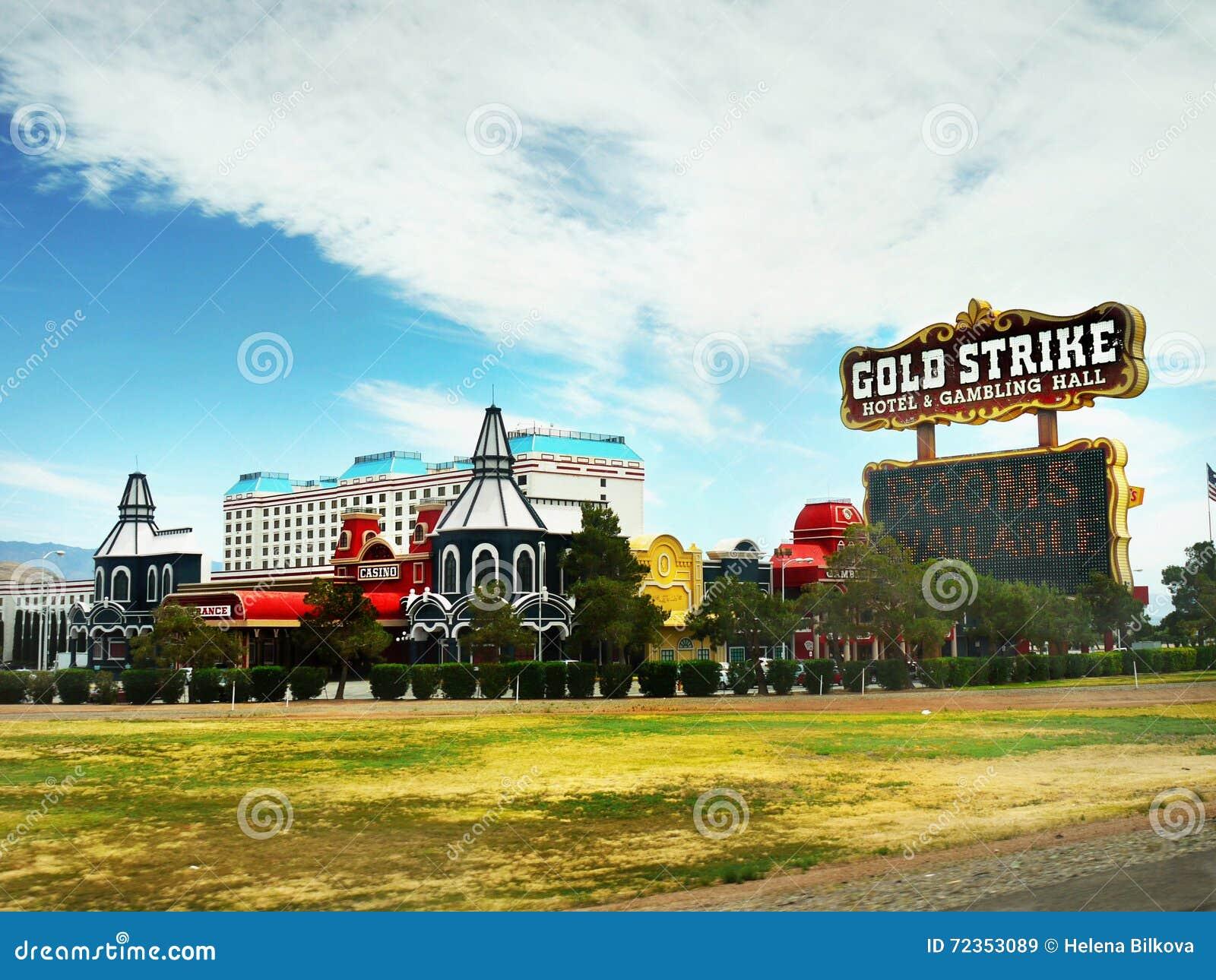 拉斯维加斯,内华达-金子罢工旅馆和赌博娱乐场