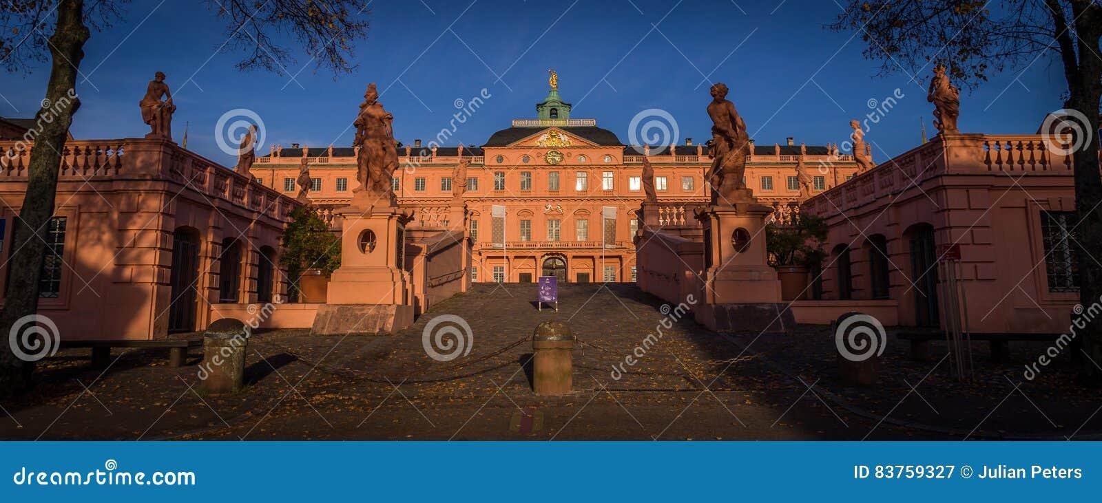 拉施塔特Schloss, Baden,德国