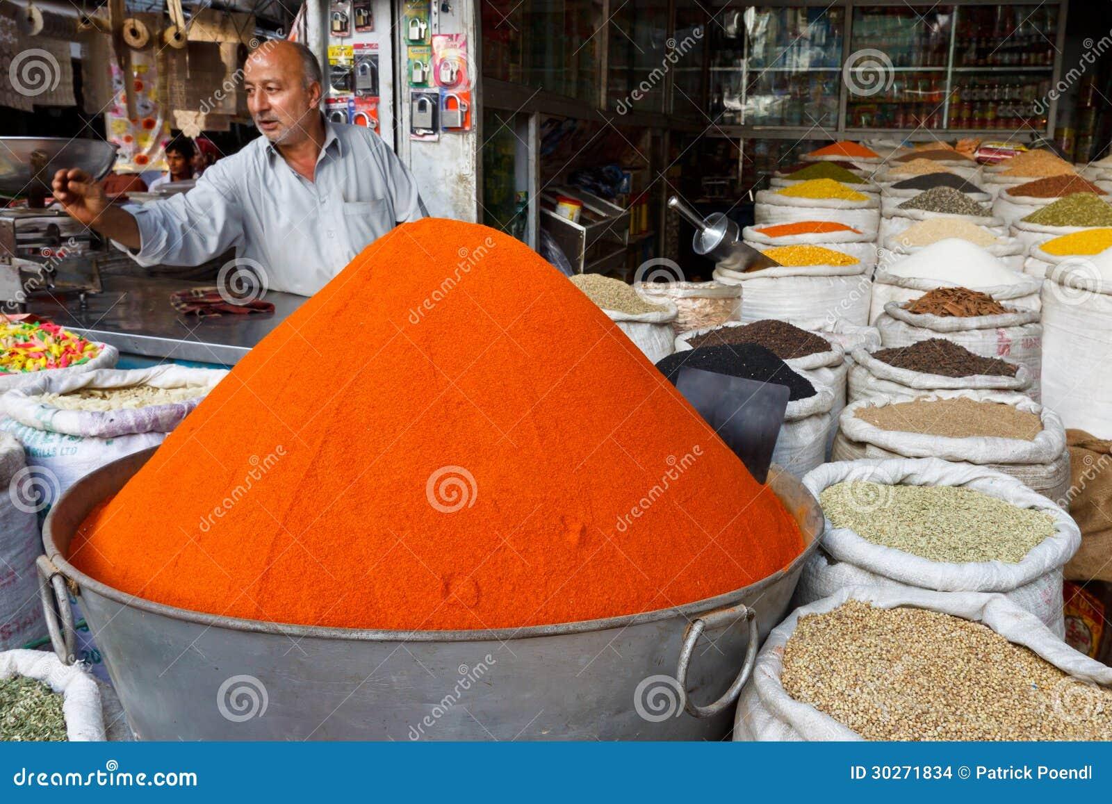王侯义卖市场在拉瓦尔品第,巴基斯坦
