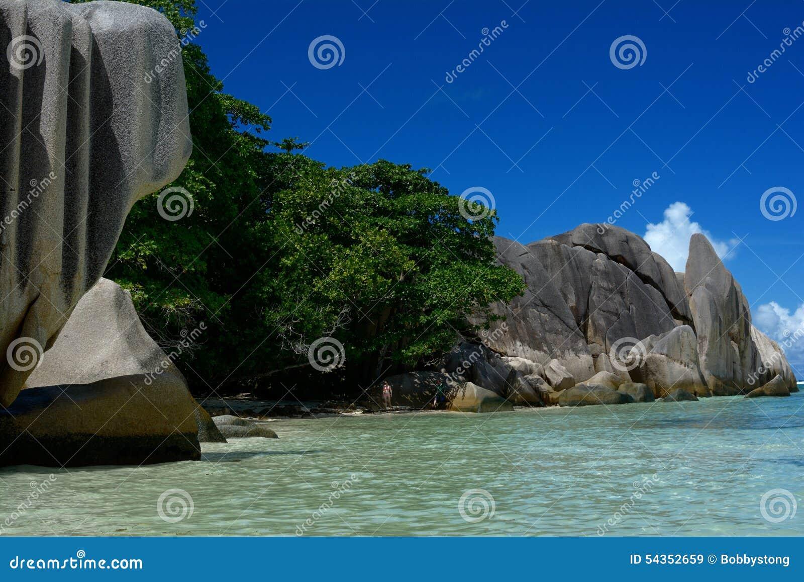 拉迪格岛塞舌尔群岛