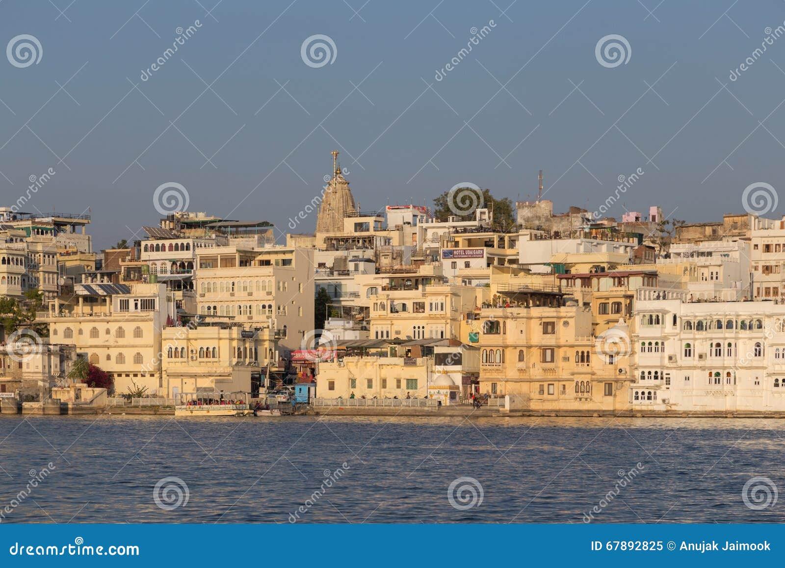 拉贾斯坦国家的乌代浦市的印度