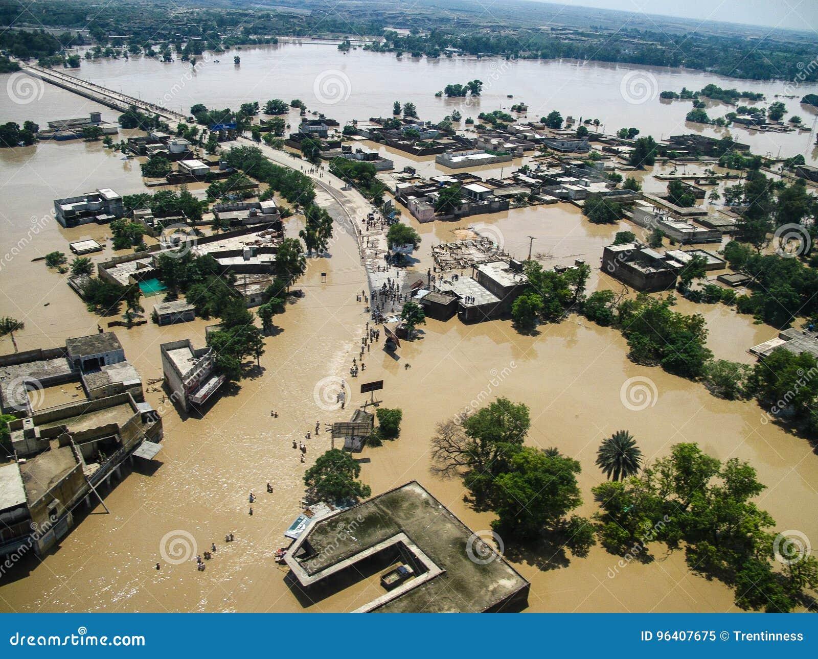 拍打谷,巴基斯坦洪水