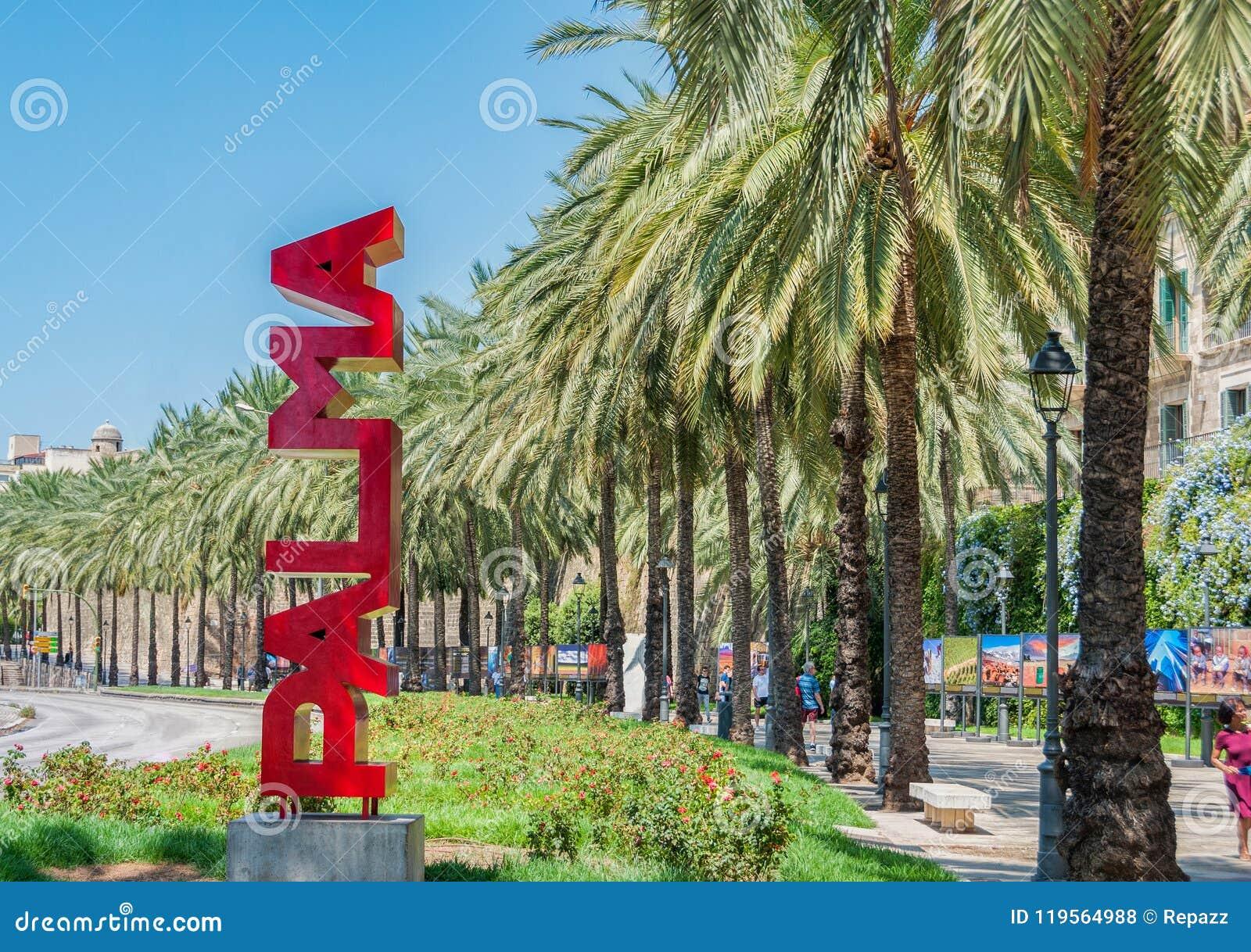 拜雷阿尔斯城市伯尔马de Majorca