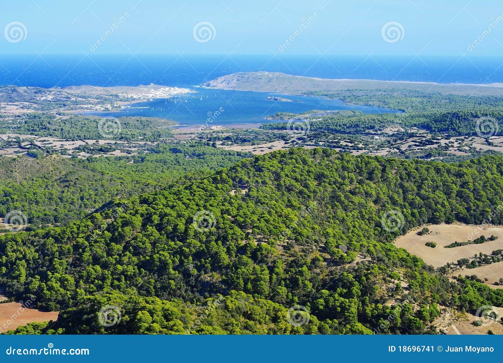 拜雷阿尔斯海湾fornells海岛menorca西班牙