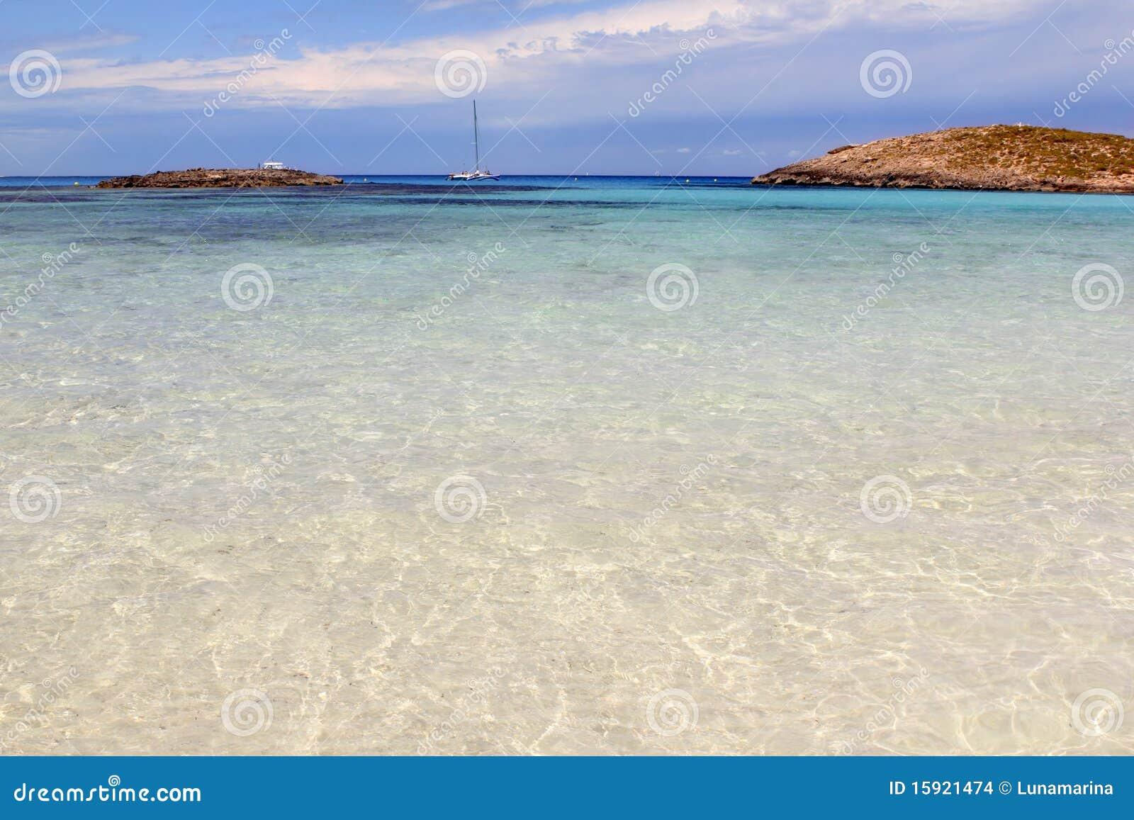 拜雷阿尔斯海滩formentera illetes海岛海岛