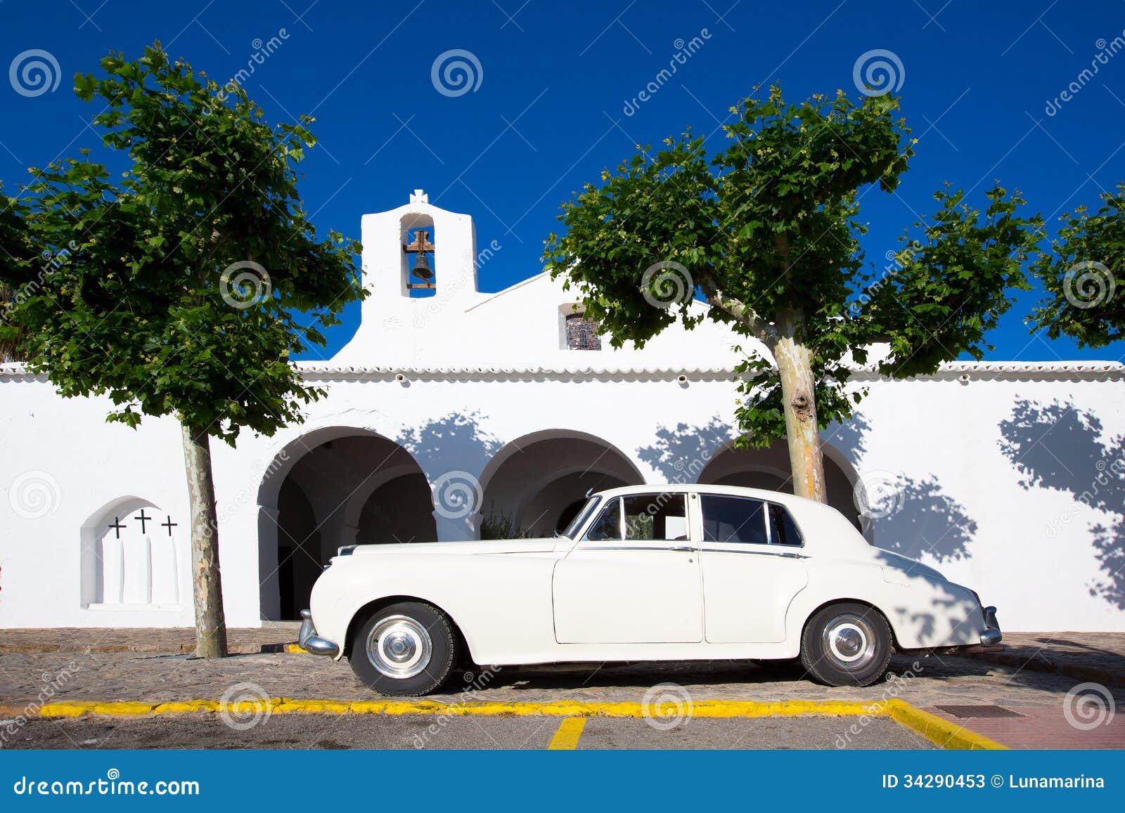 拜雷阿尔斯的Ibiza Sant卡莱斯de佩拉尔塔白色教会