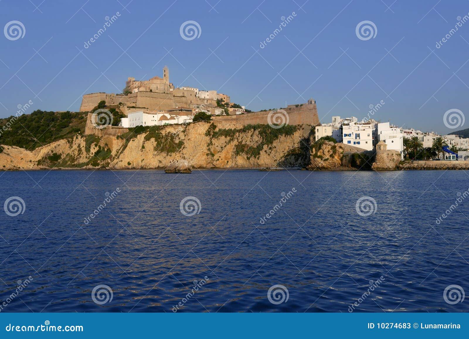 拜雷阿尔斯ibiza海岛地中海西班牙白色