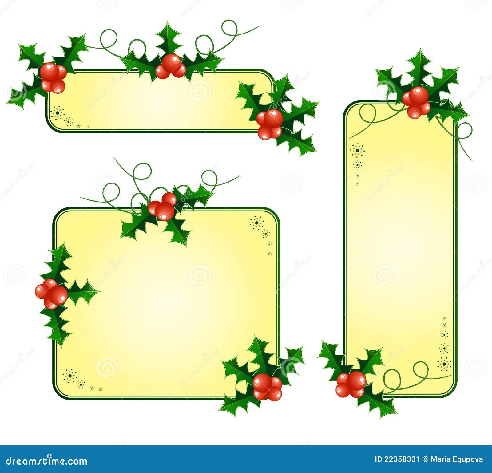 拟订圣诞节欧洲霍莉
