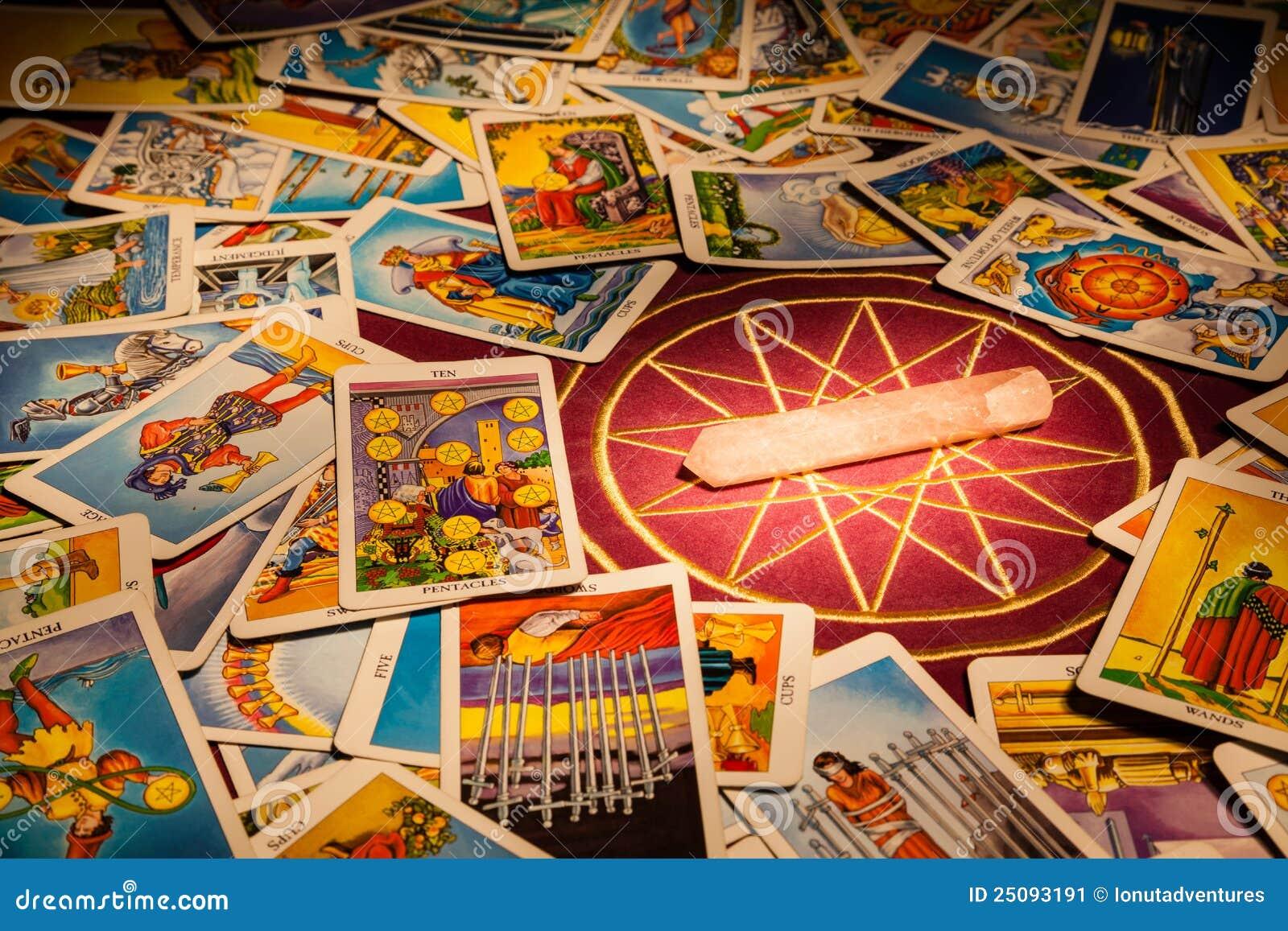 拟订水晶魔术tarot
