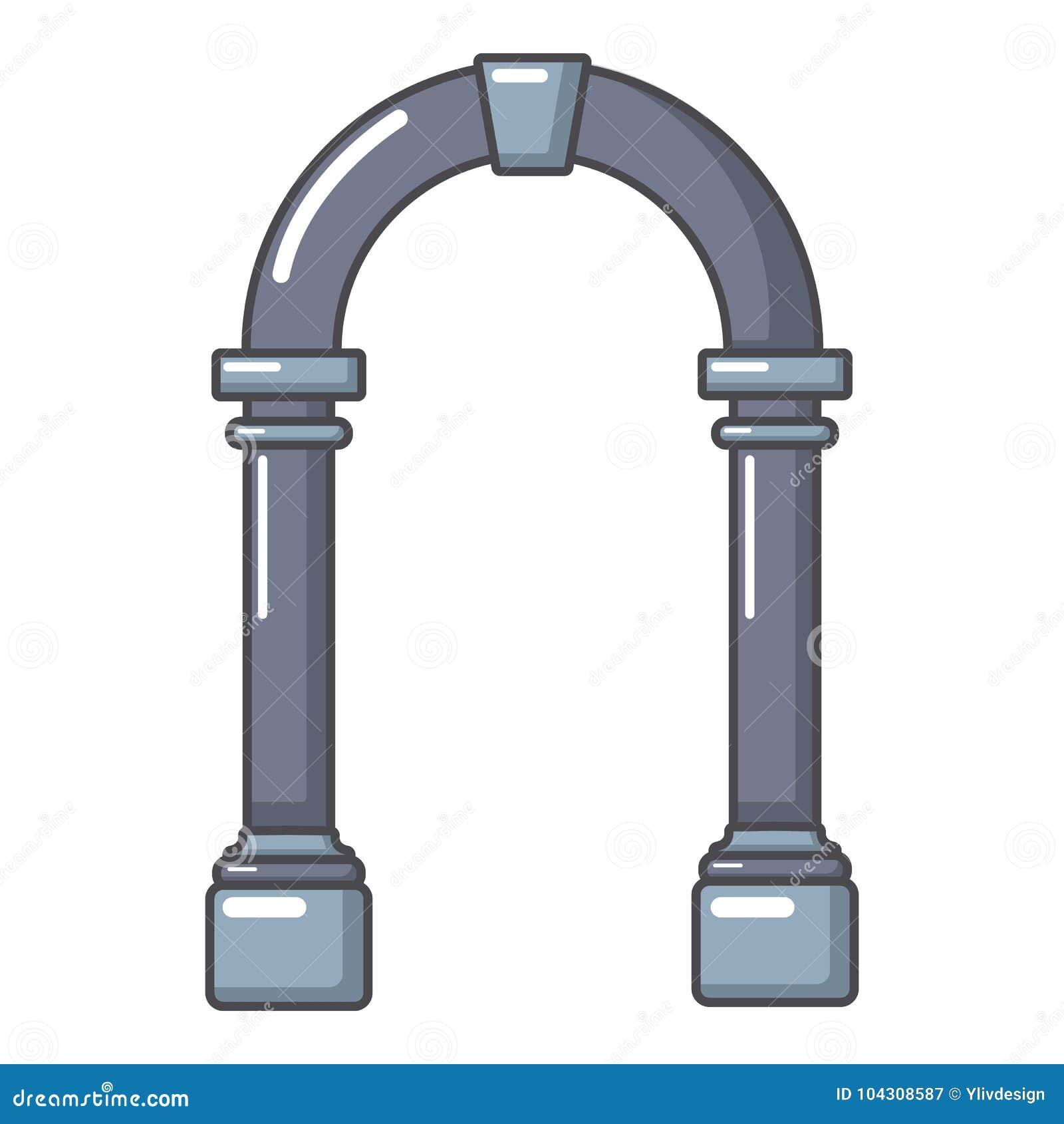 拱道具体象,动画片样式