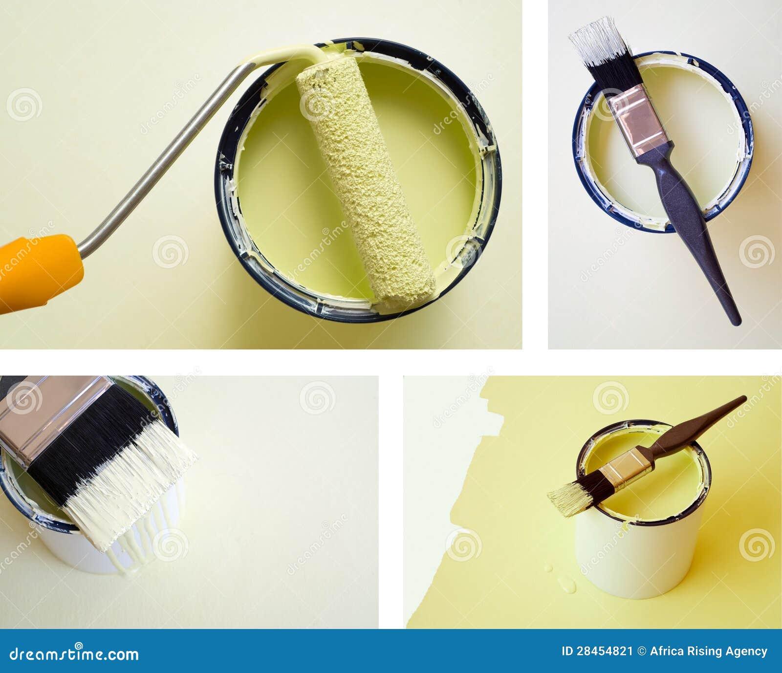 拼贴画组合DIY住所改善油漆