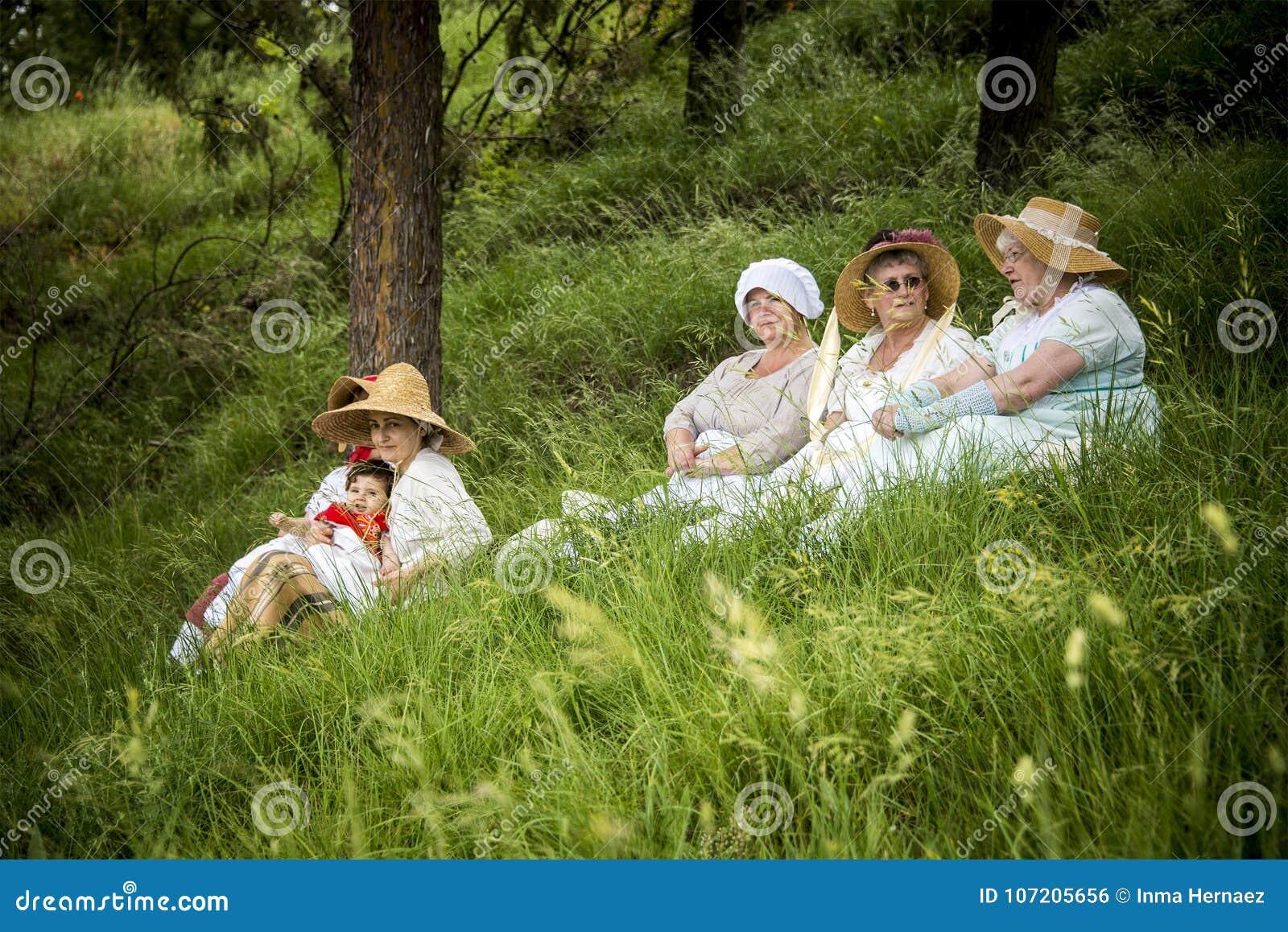 拿破仑战争的历史再制定,在布尔戈斯,西班牙, 2016年6月12日