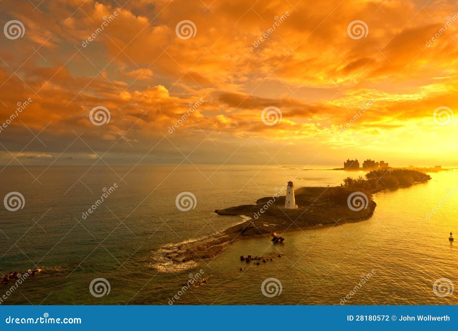 拿骚,巴哈马在黎明