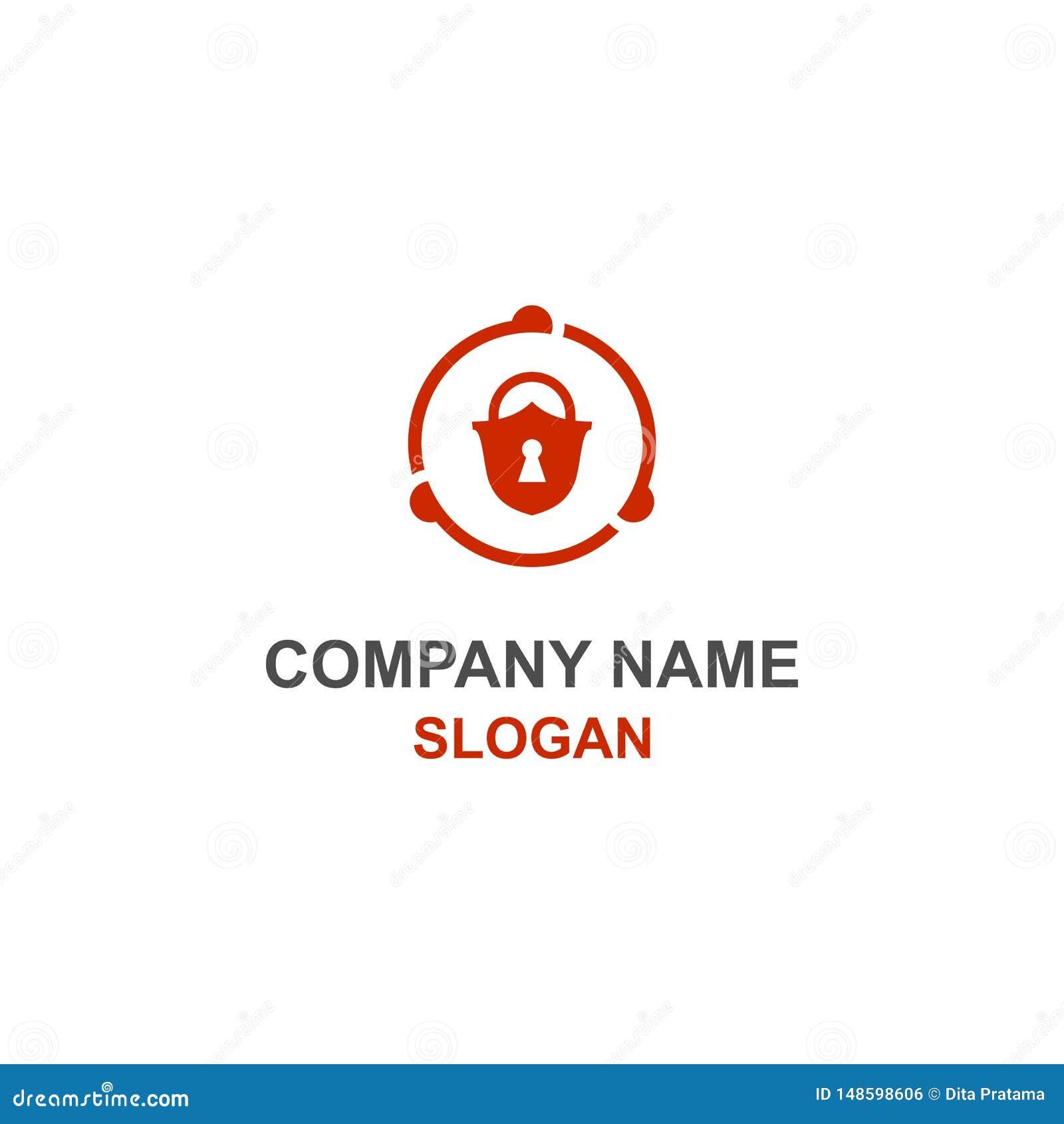挂锁安全商标