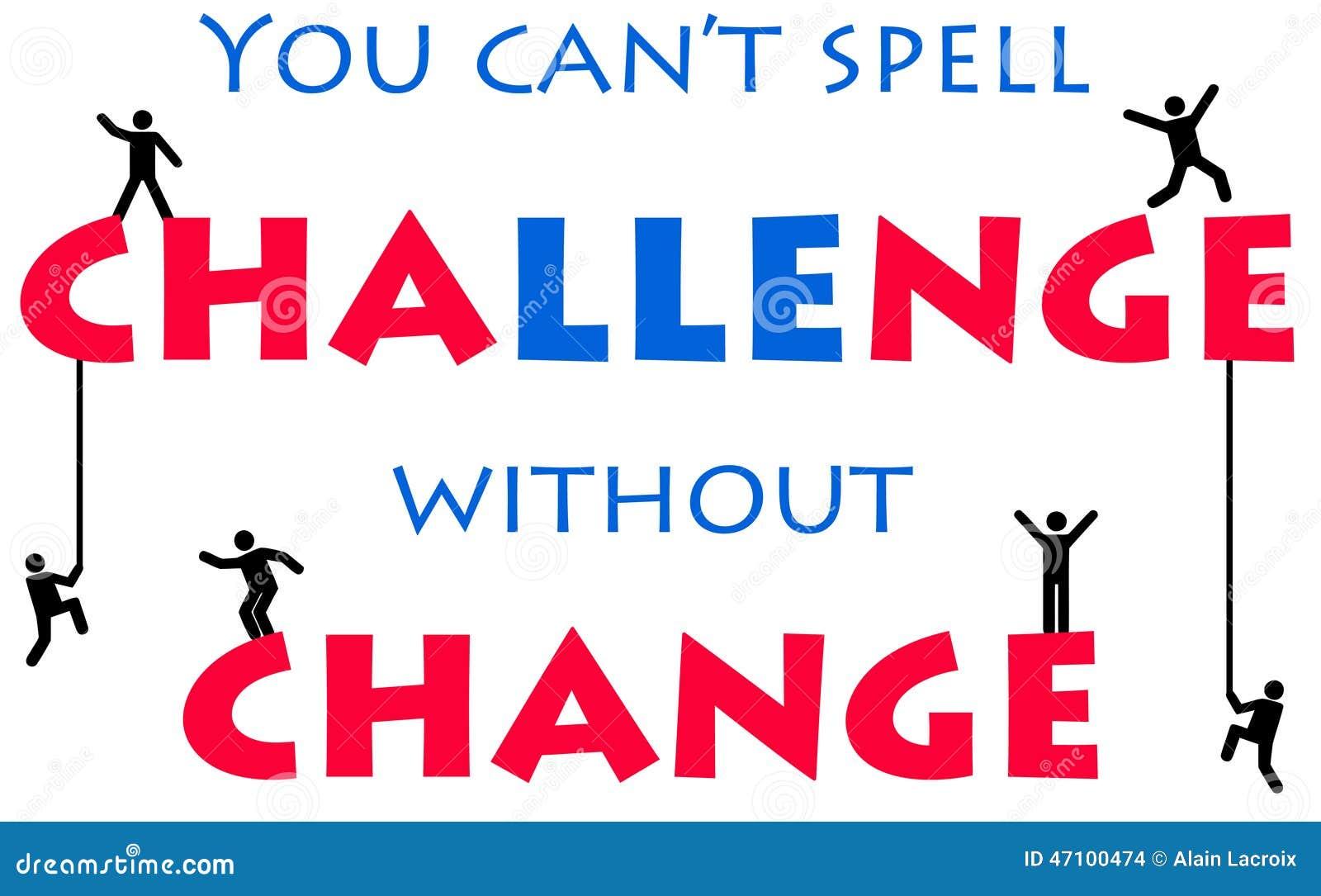 挑战和变动