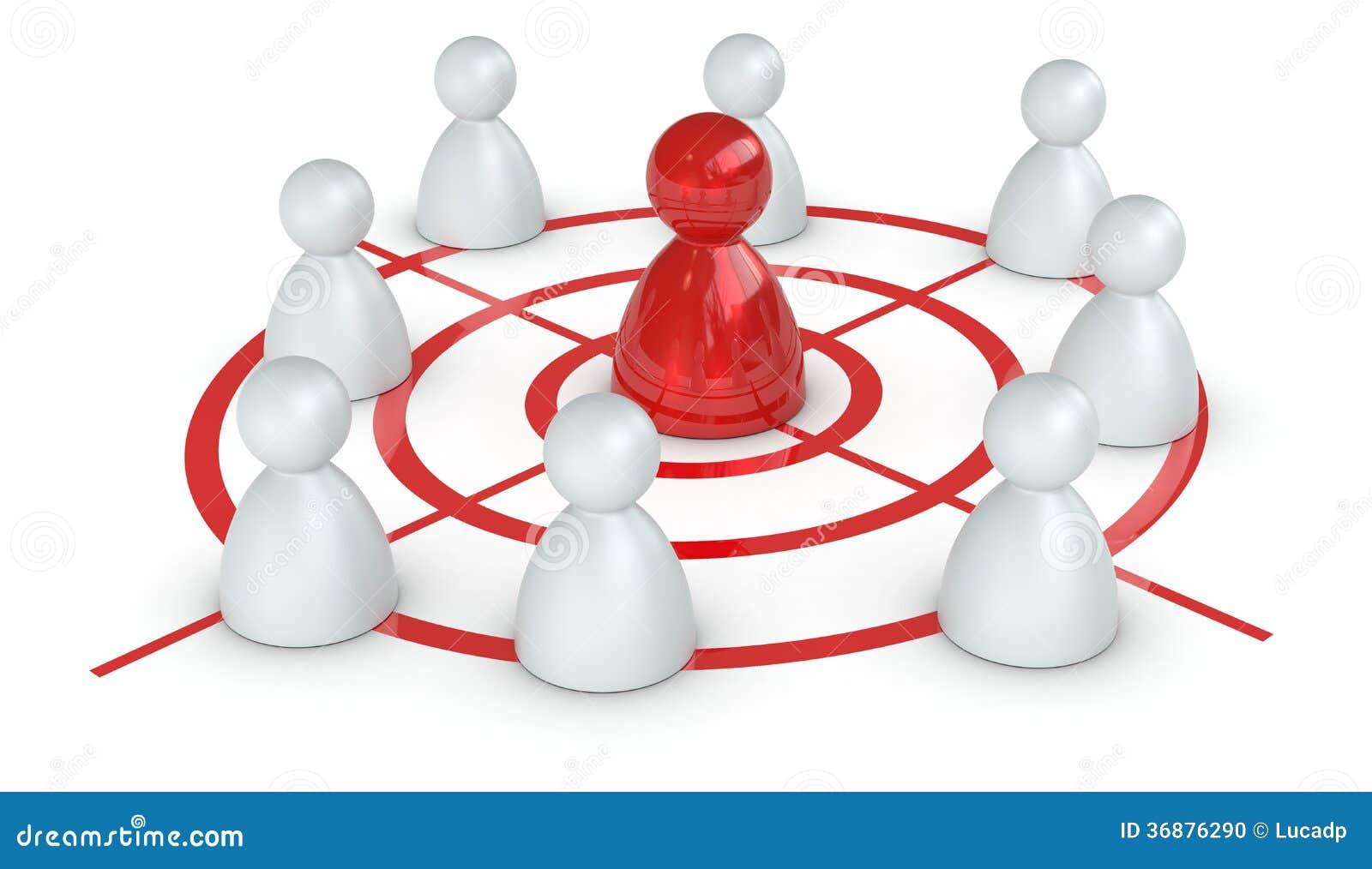 挑战和领导的概念
