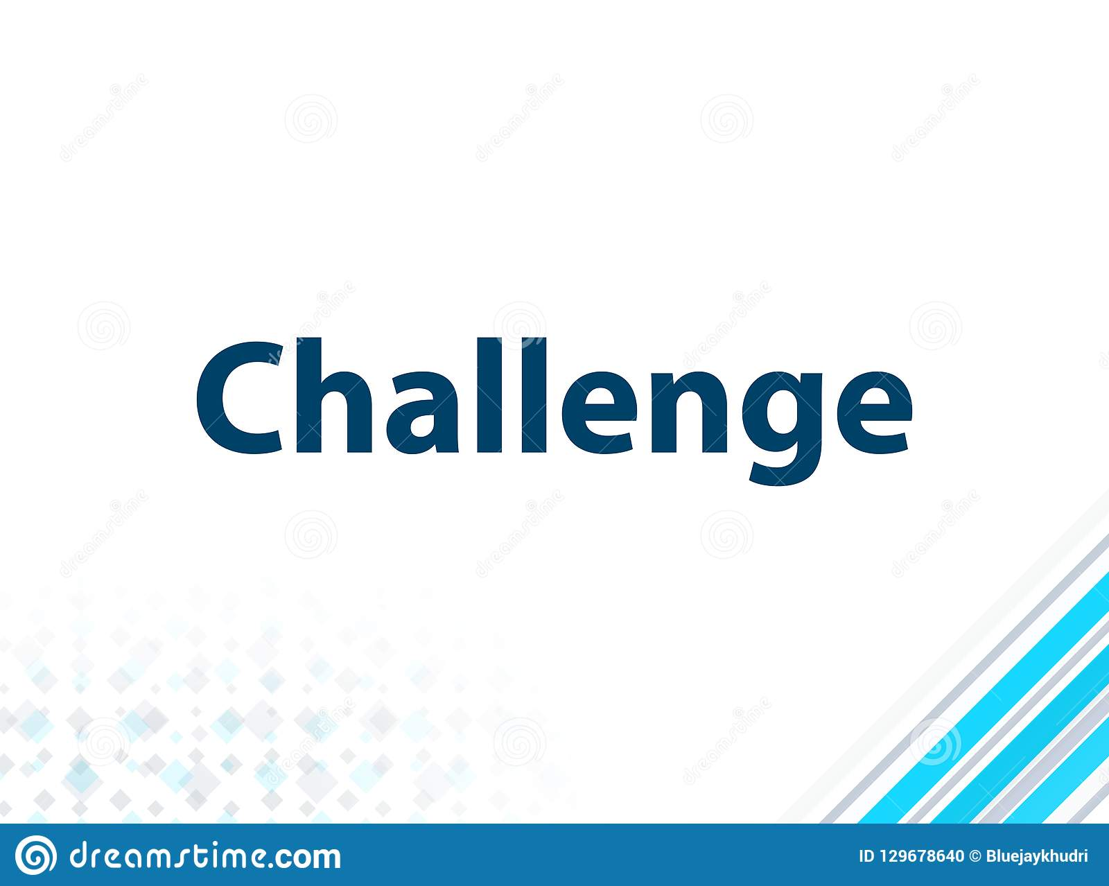 挑战现代平的设计蓝色抽象背景