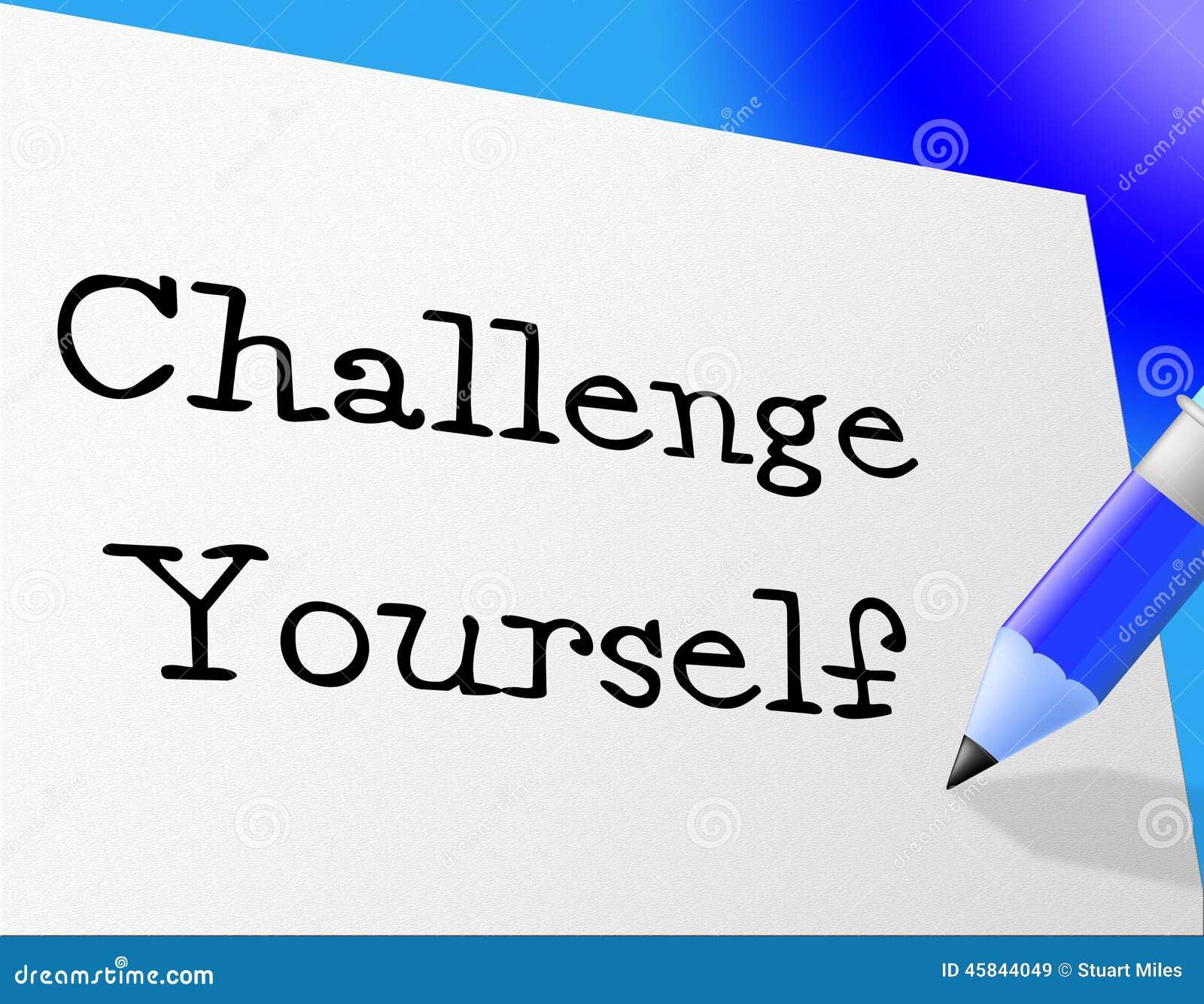 挑战代表改善刺激和坚持