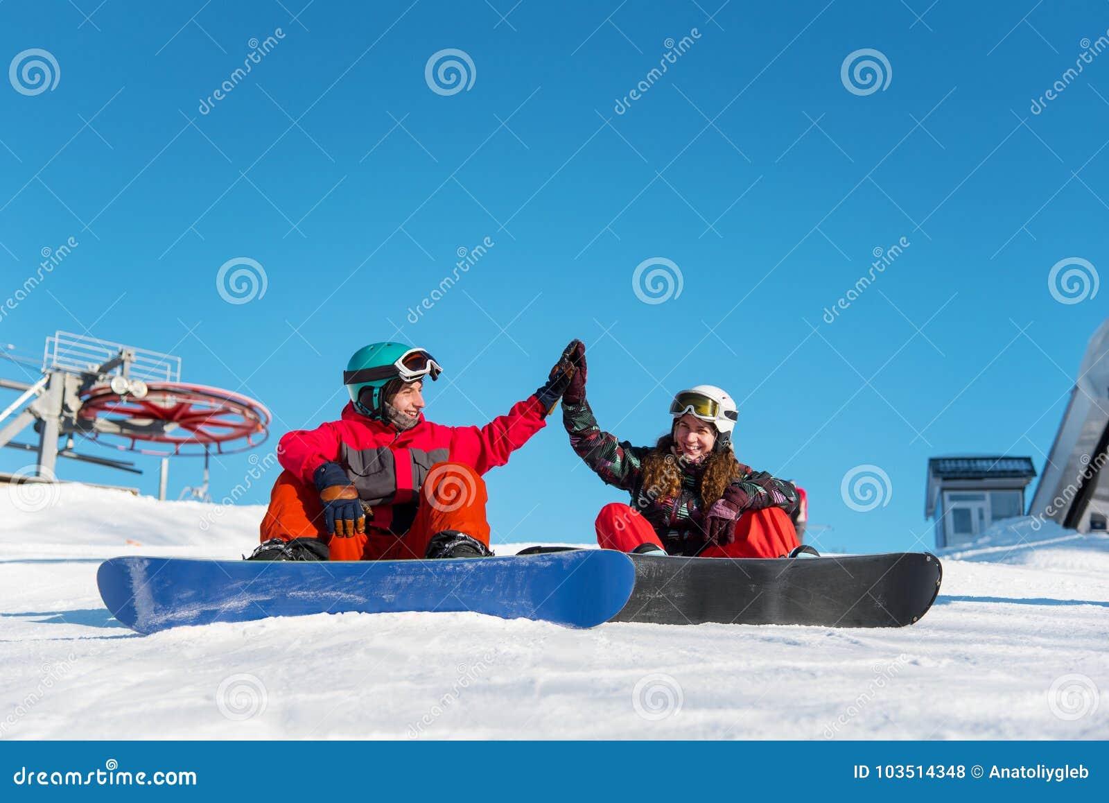 挡雪板夫妇互相给上流五