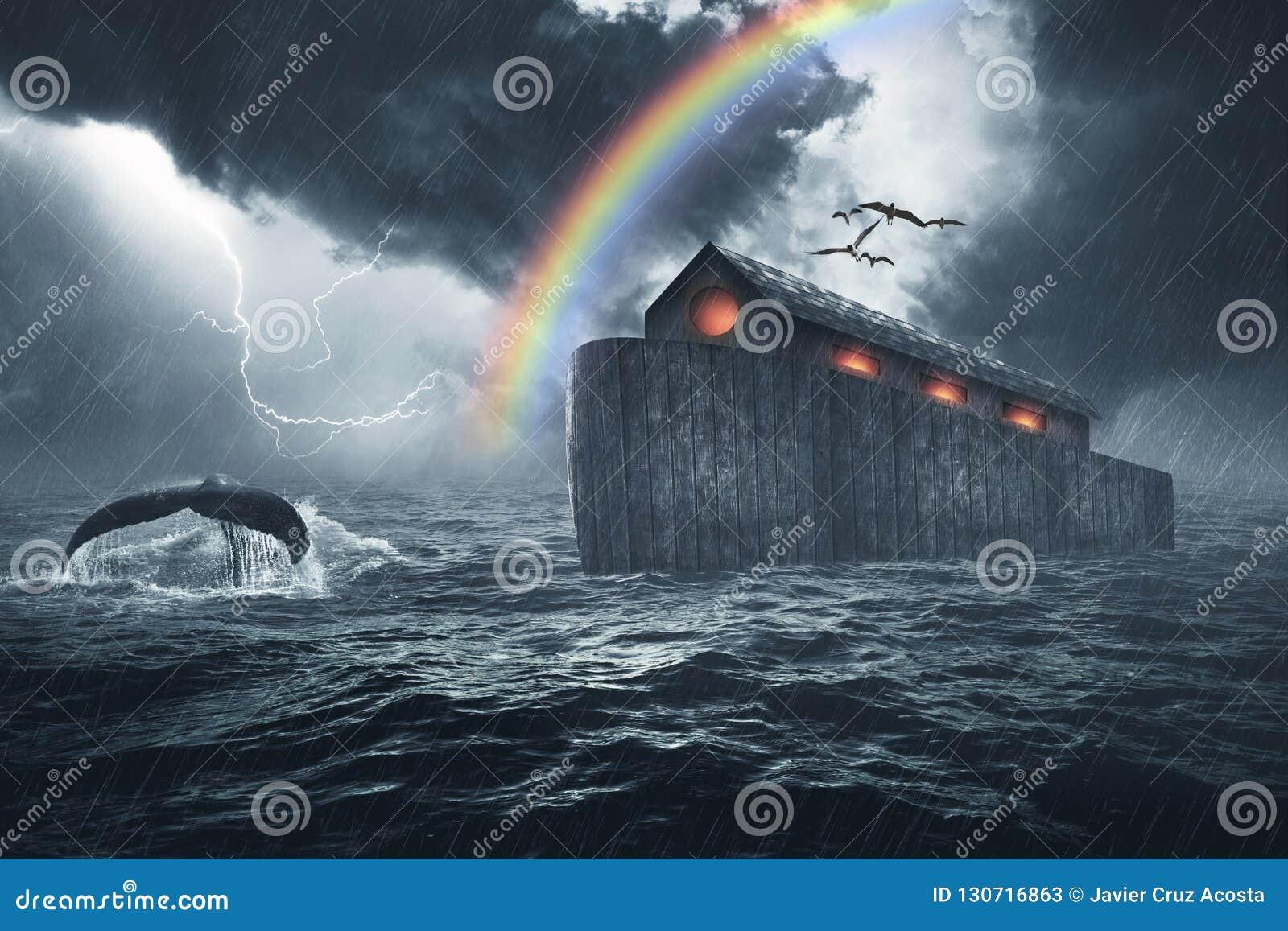 挪亚方舟圣经故事
