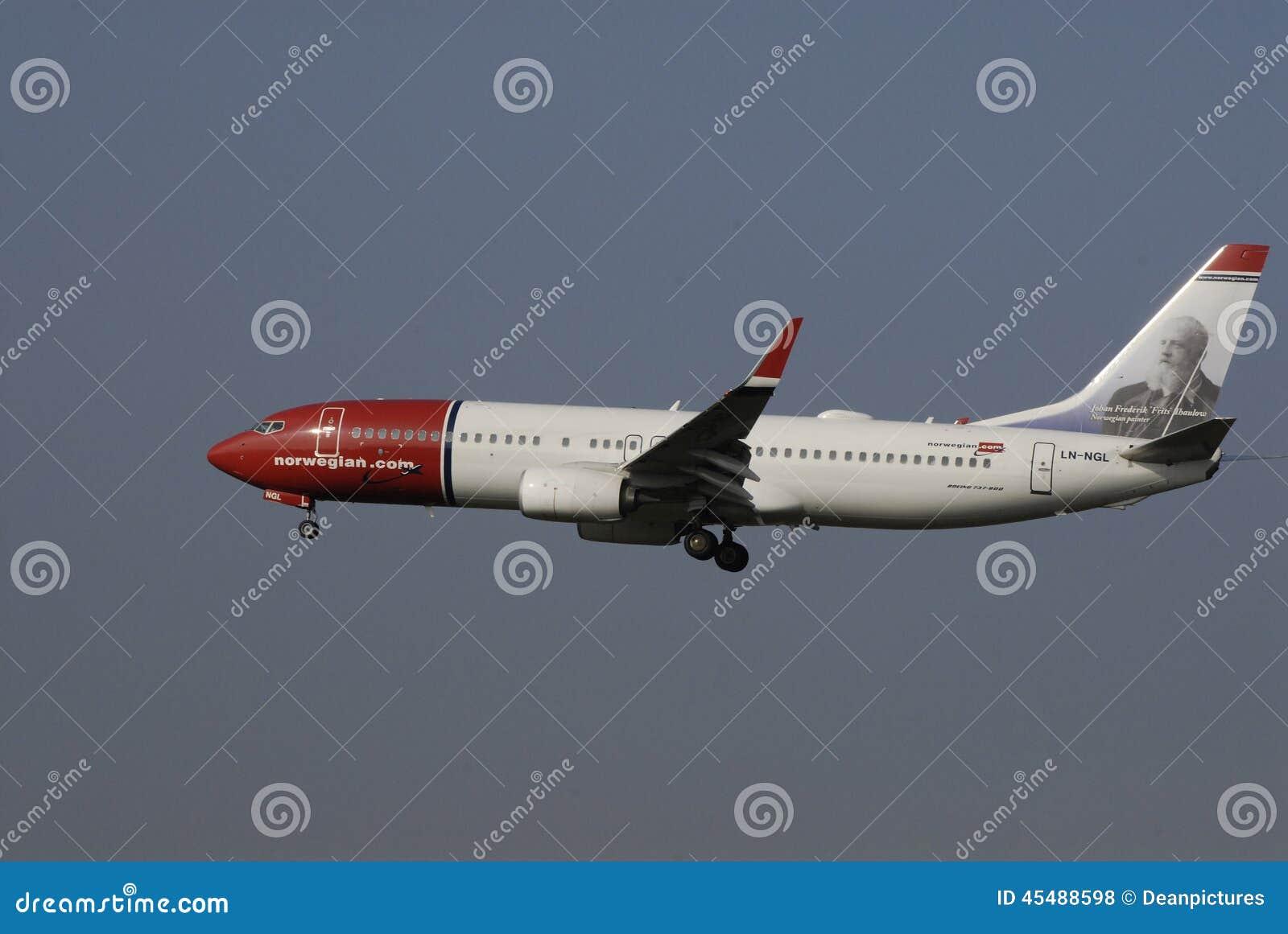 挪威国际航班