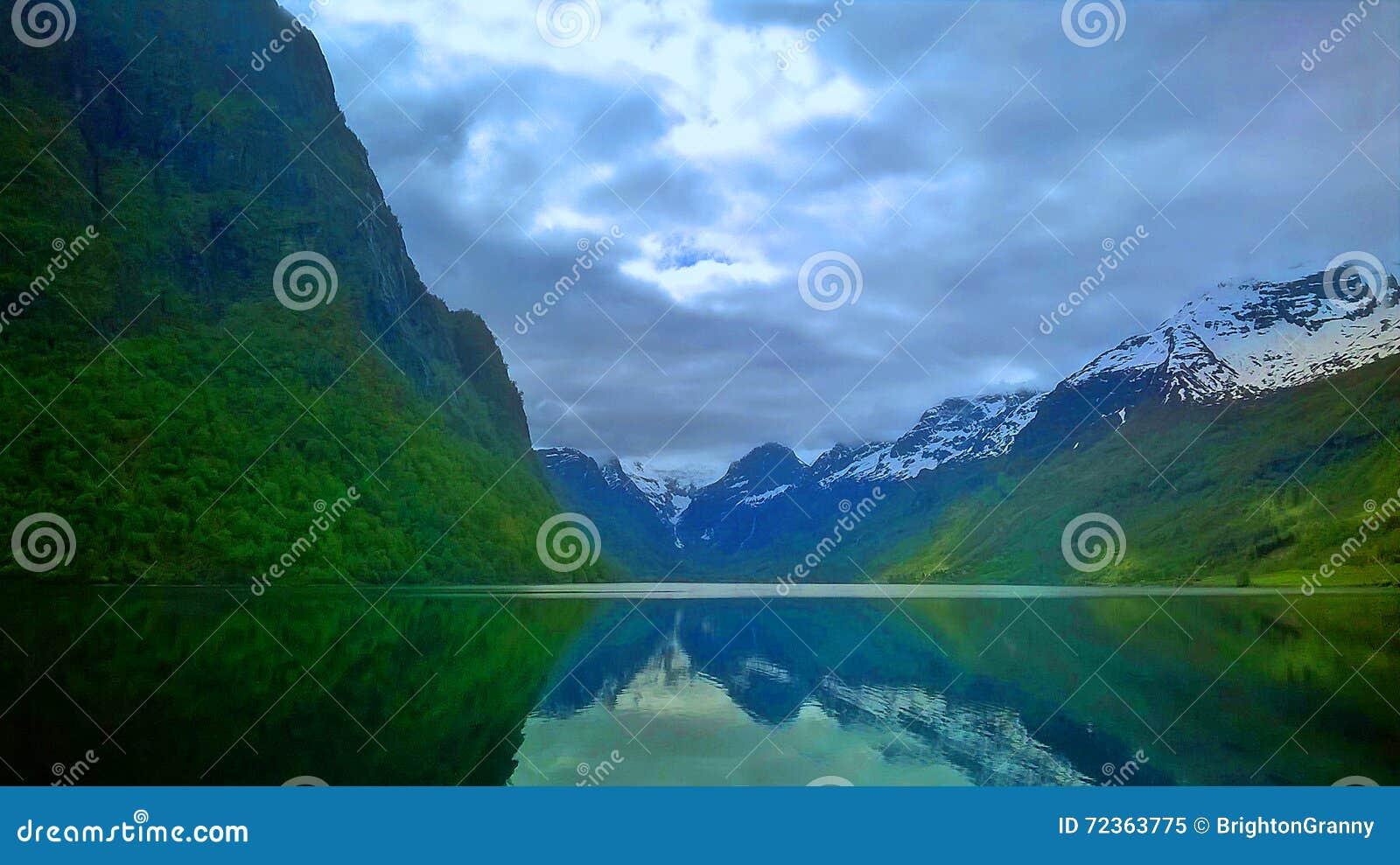 挪威的峡湾
