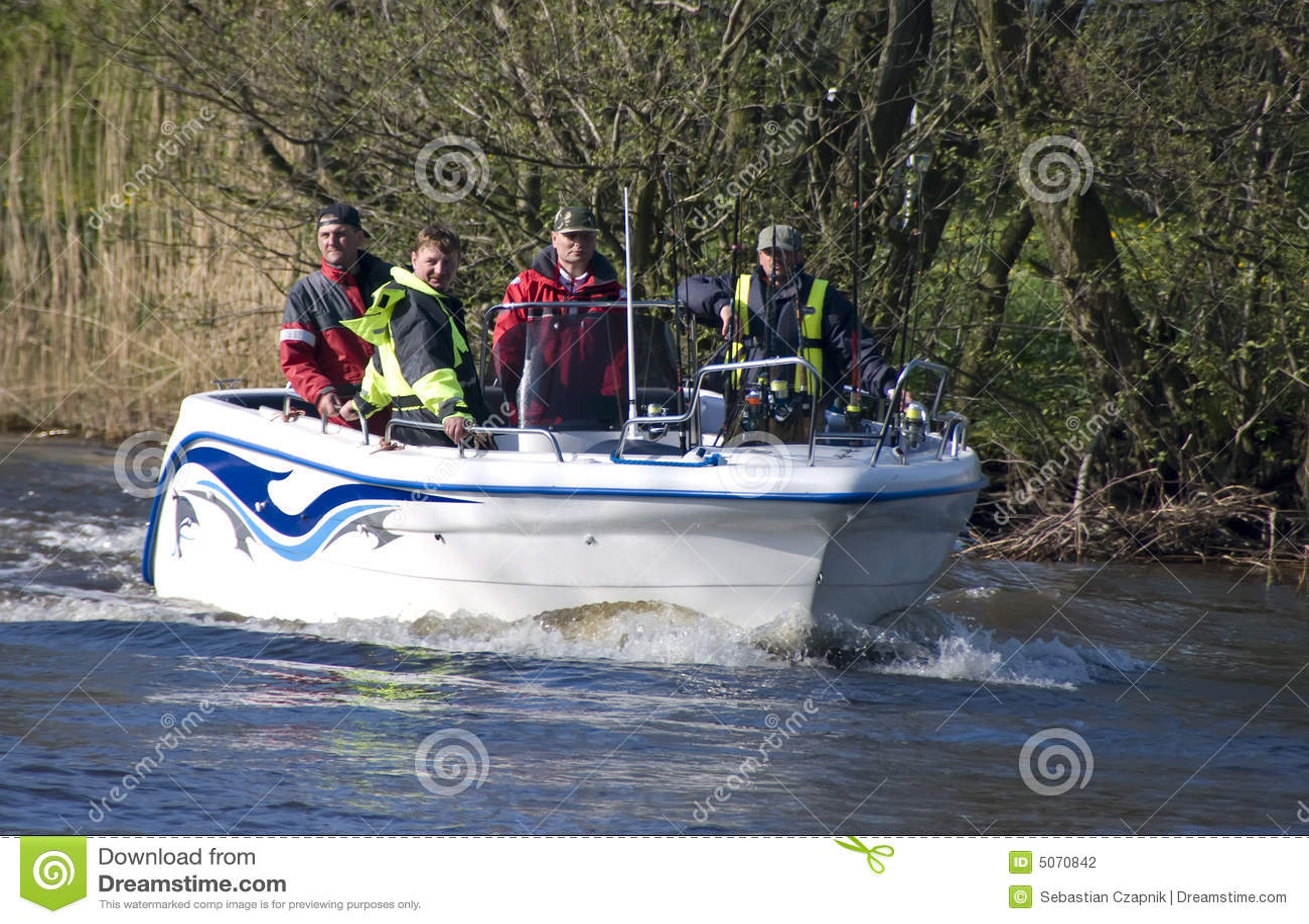 捕鱼汽艇小组