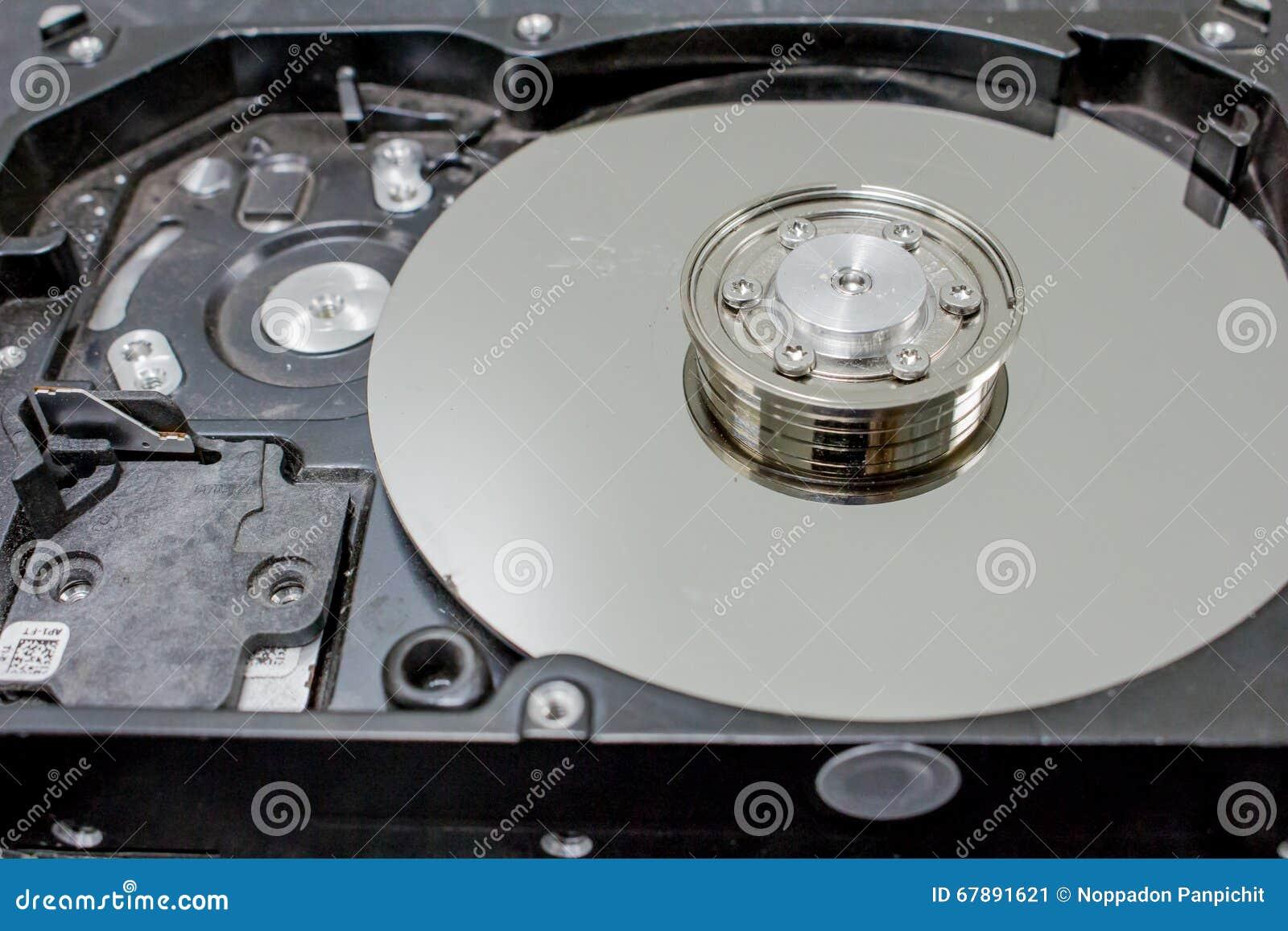 损坏的计算机硬盘