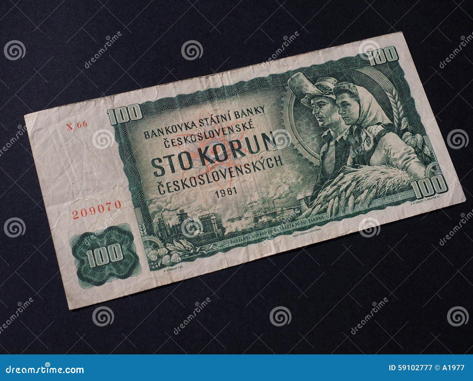 捷克斯洛伐克金钱