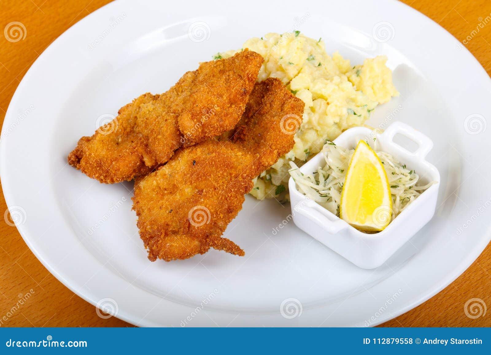 捷克烹调-炸肉排