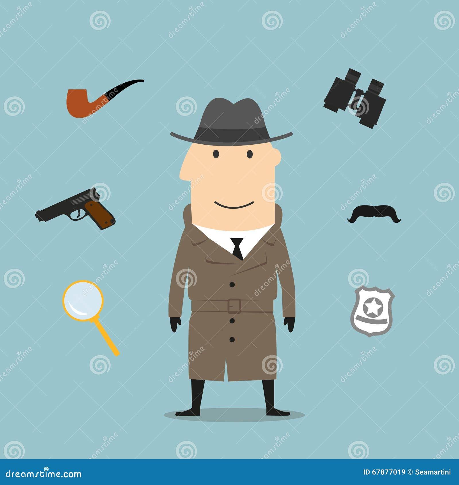 探员和间谍行业象