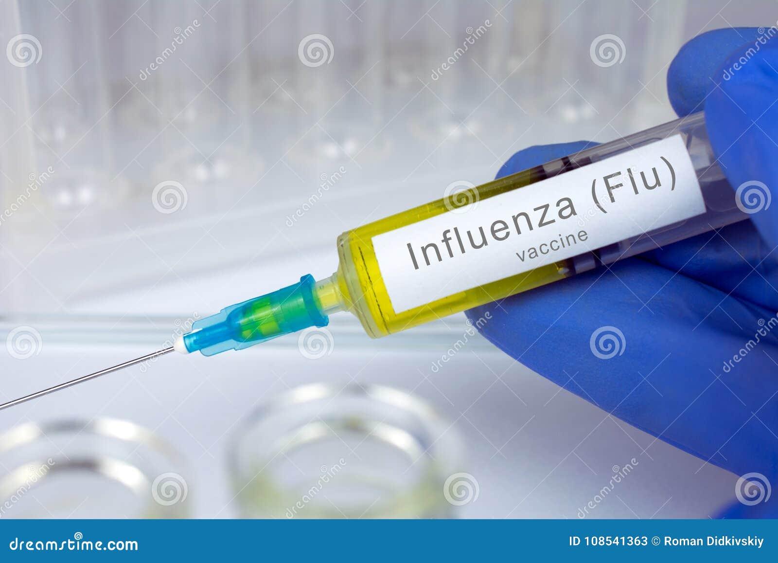 接种医疗保健概念,季节性流行性感冒流感疫苗