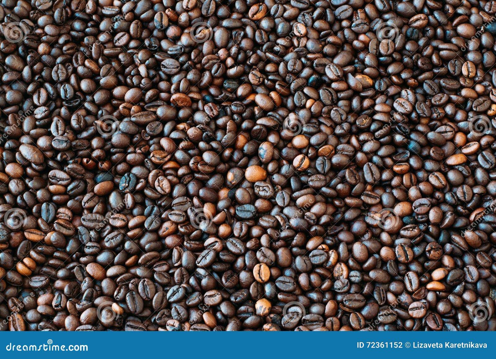 接近的咖啡水平的纹理