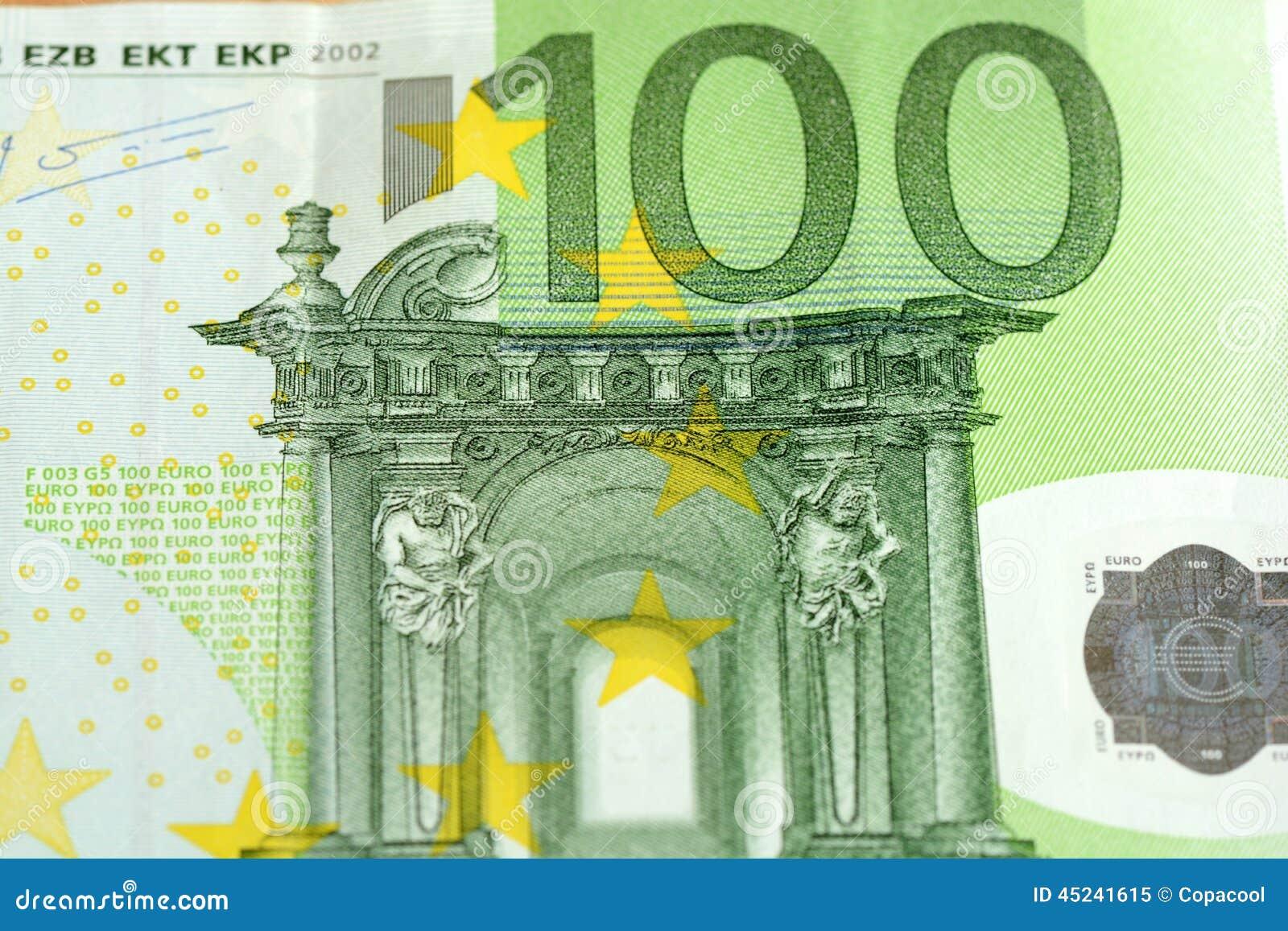 关闭许多欧洲一百欧元- 100.图片