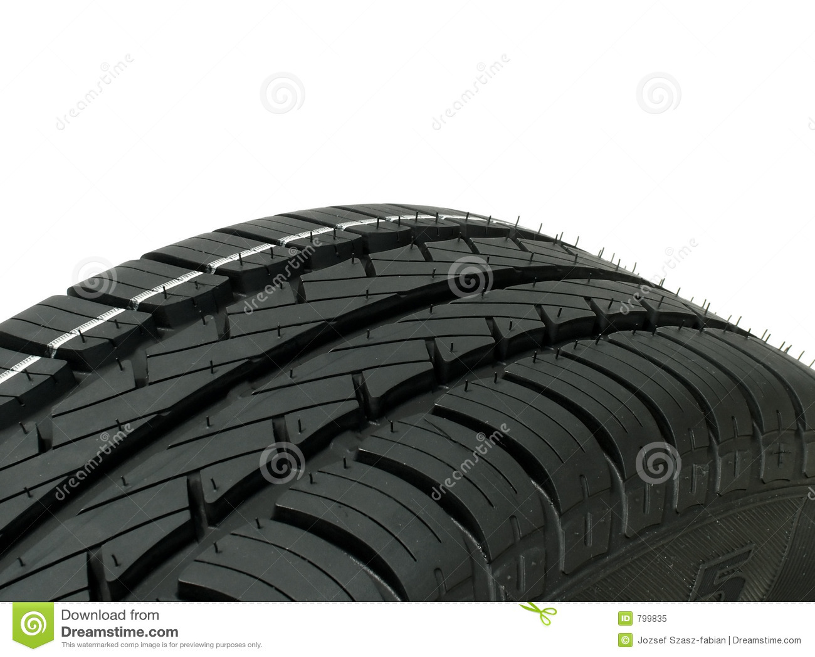 接近的轮胎