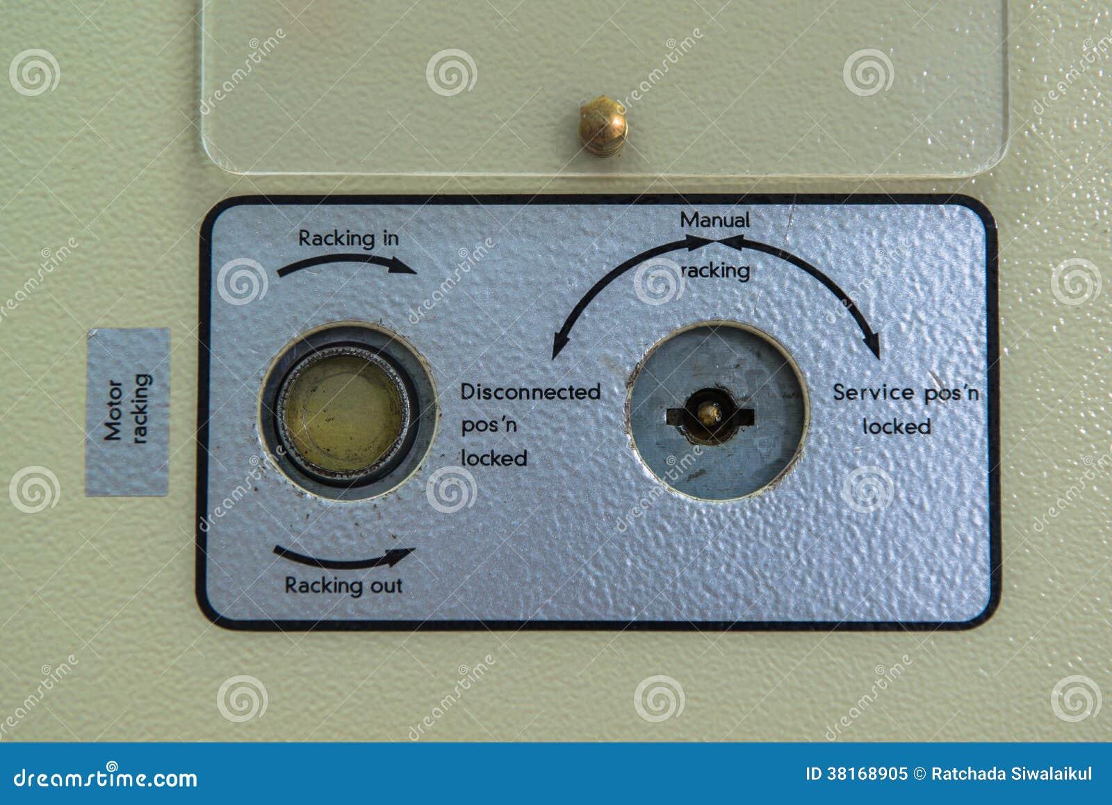 控制米显示在发电站