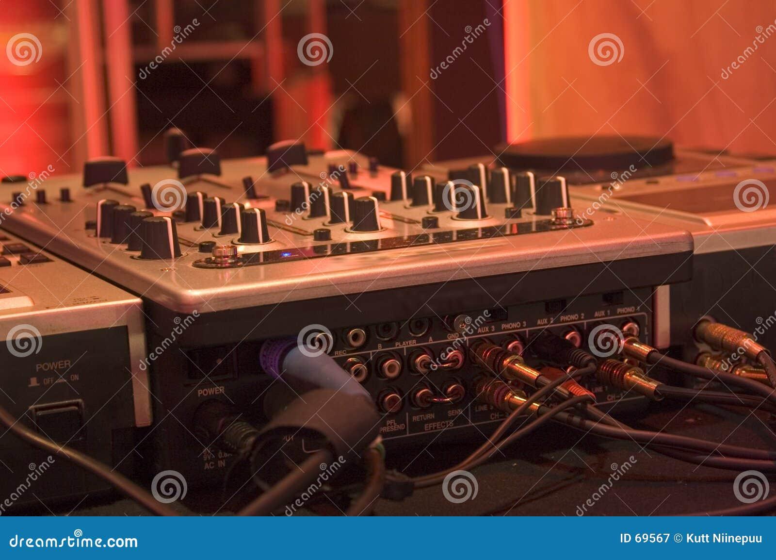 控制dj搅拌机