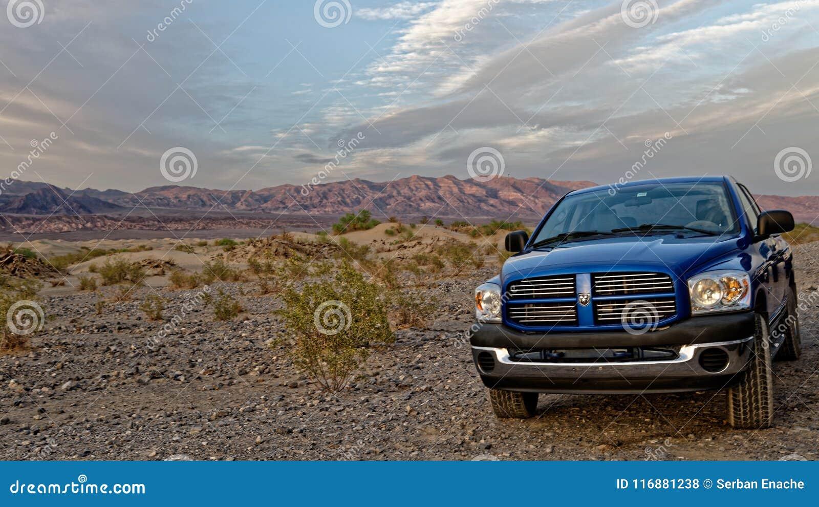 推托Ram在死亡谷