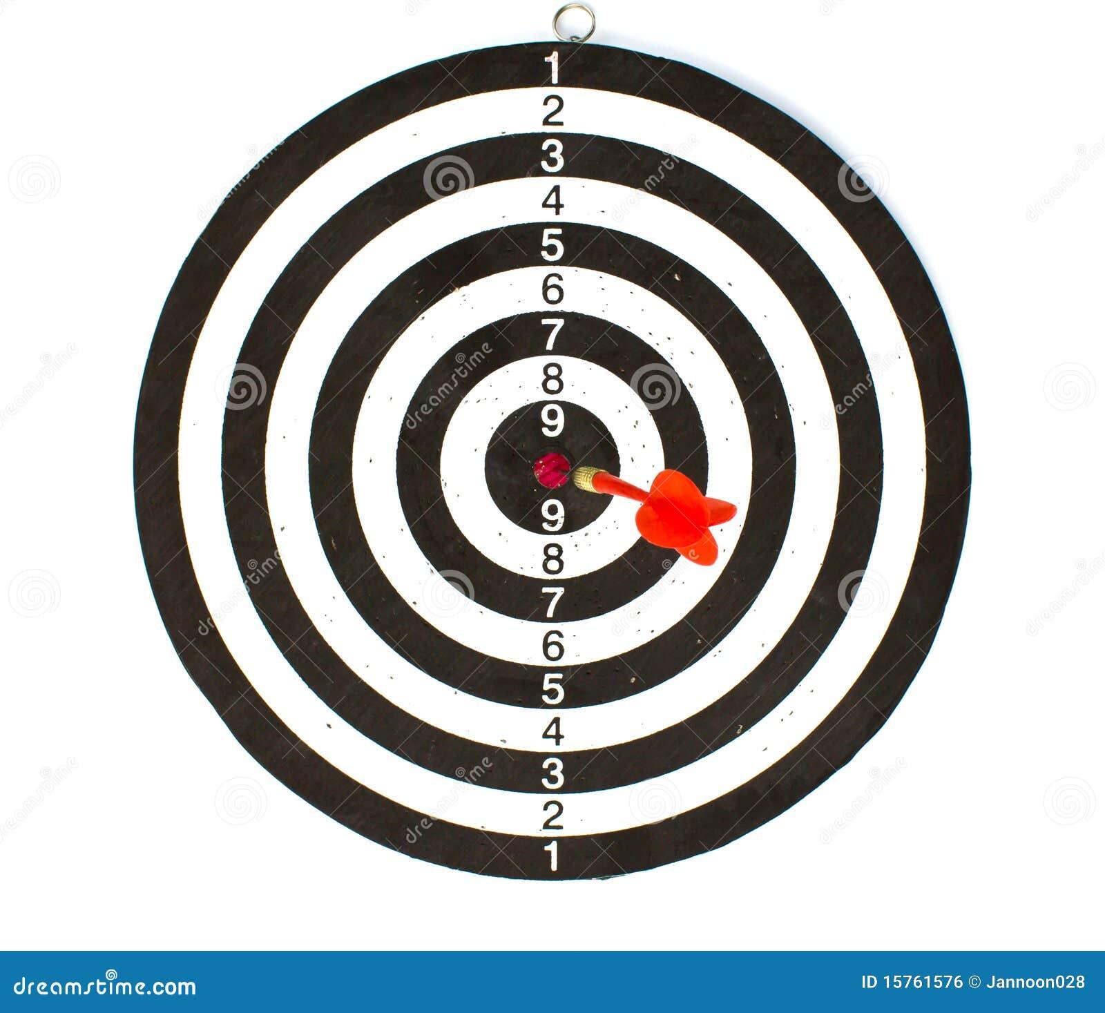 掷镖的圆靶