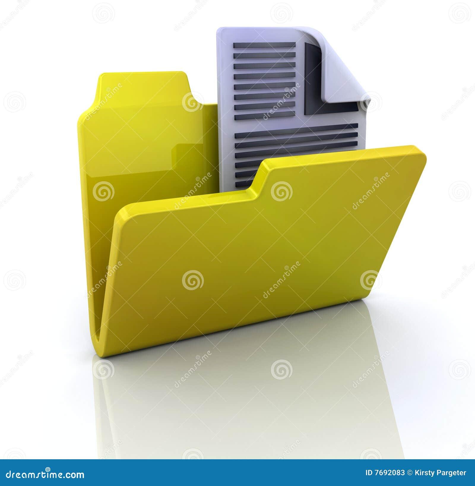 提供文件夹图标文本