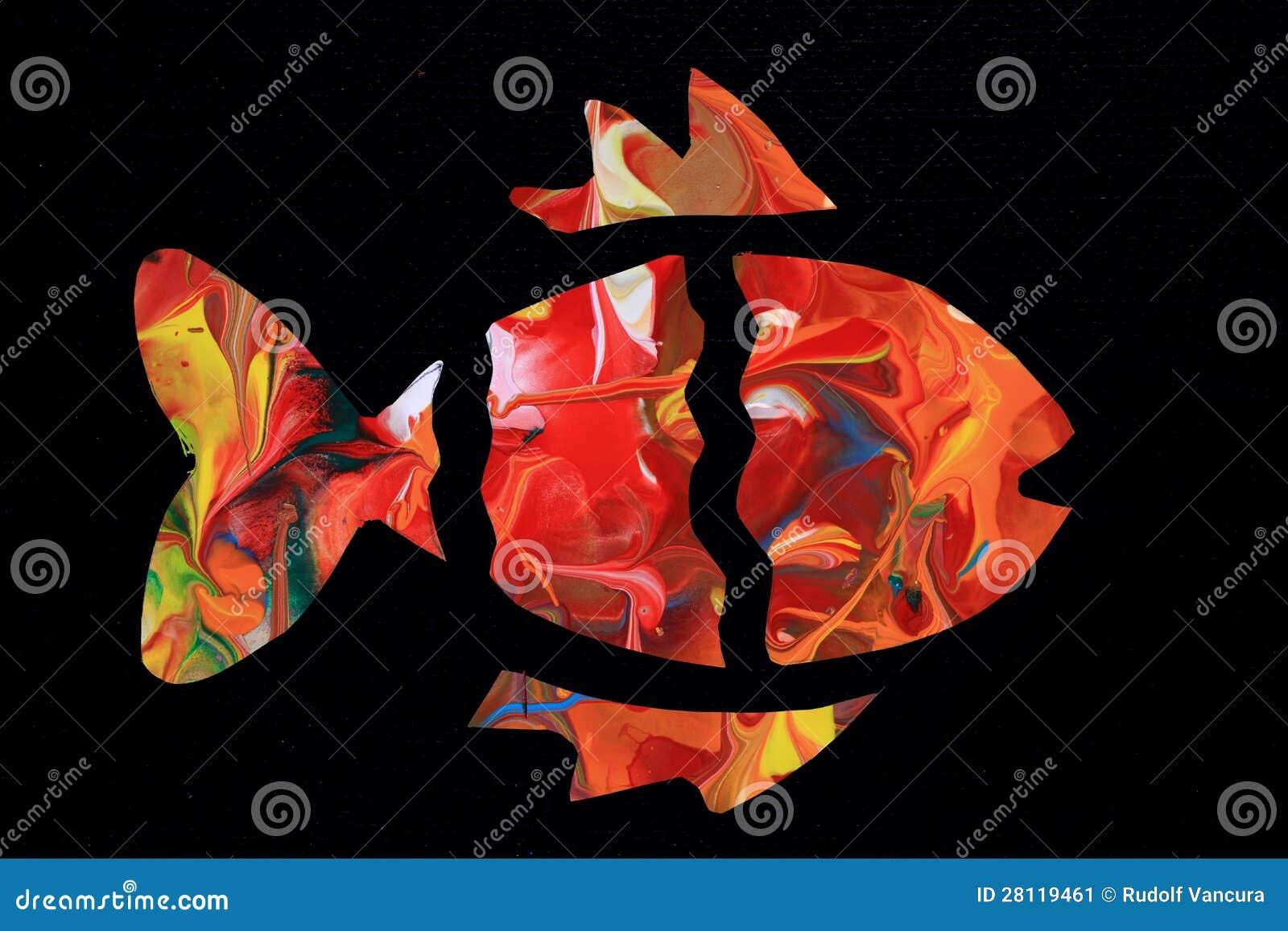 五颜六色的意思_提取五颜六色的鱼