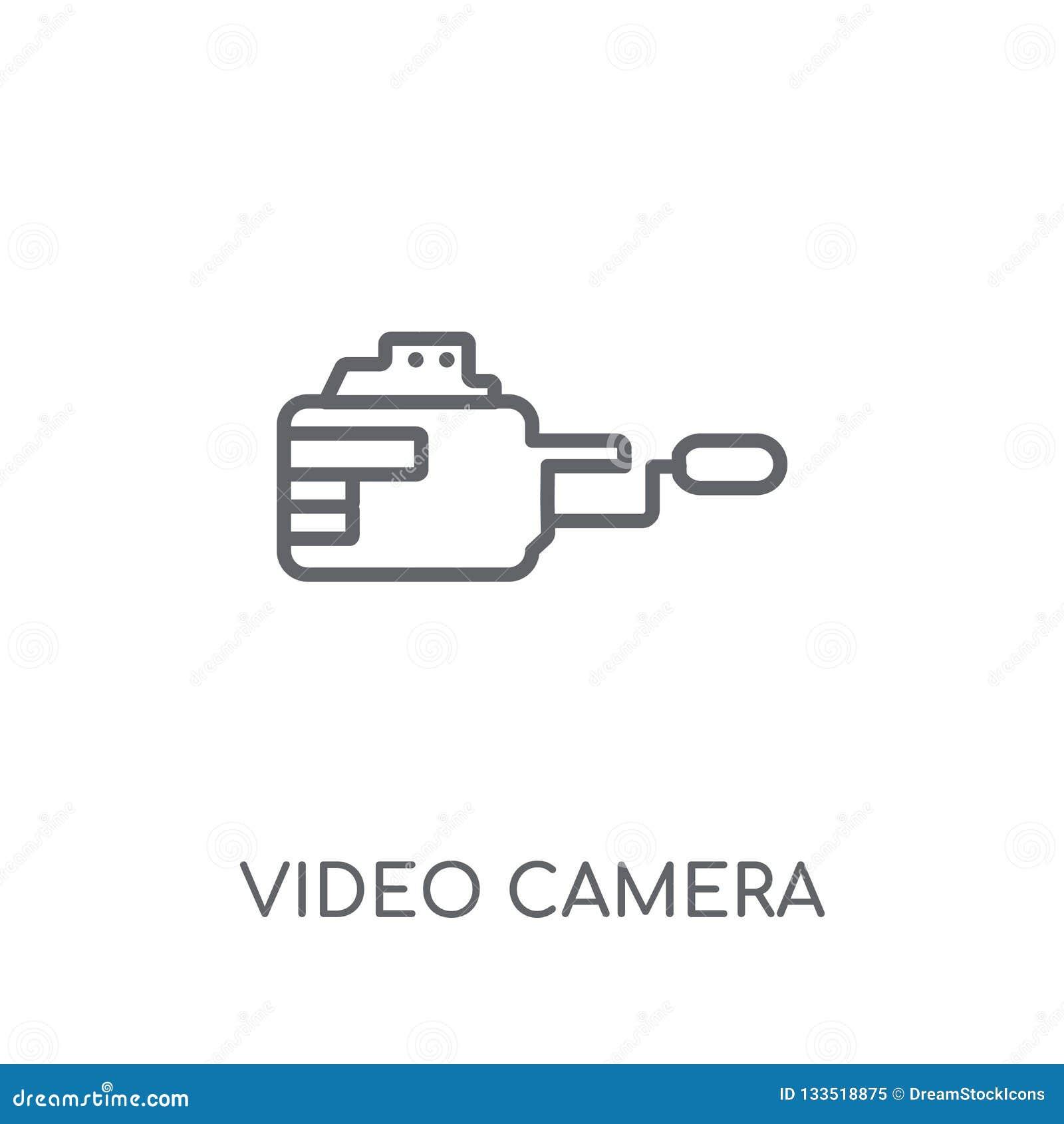 摄像头线性象 现代概述摄像头商标conce